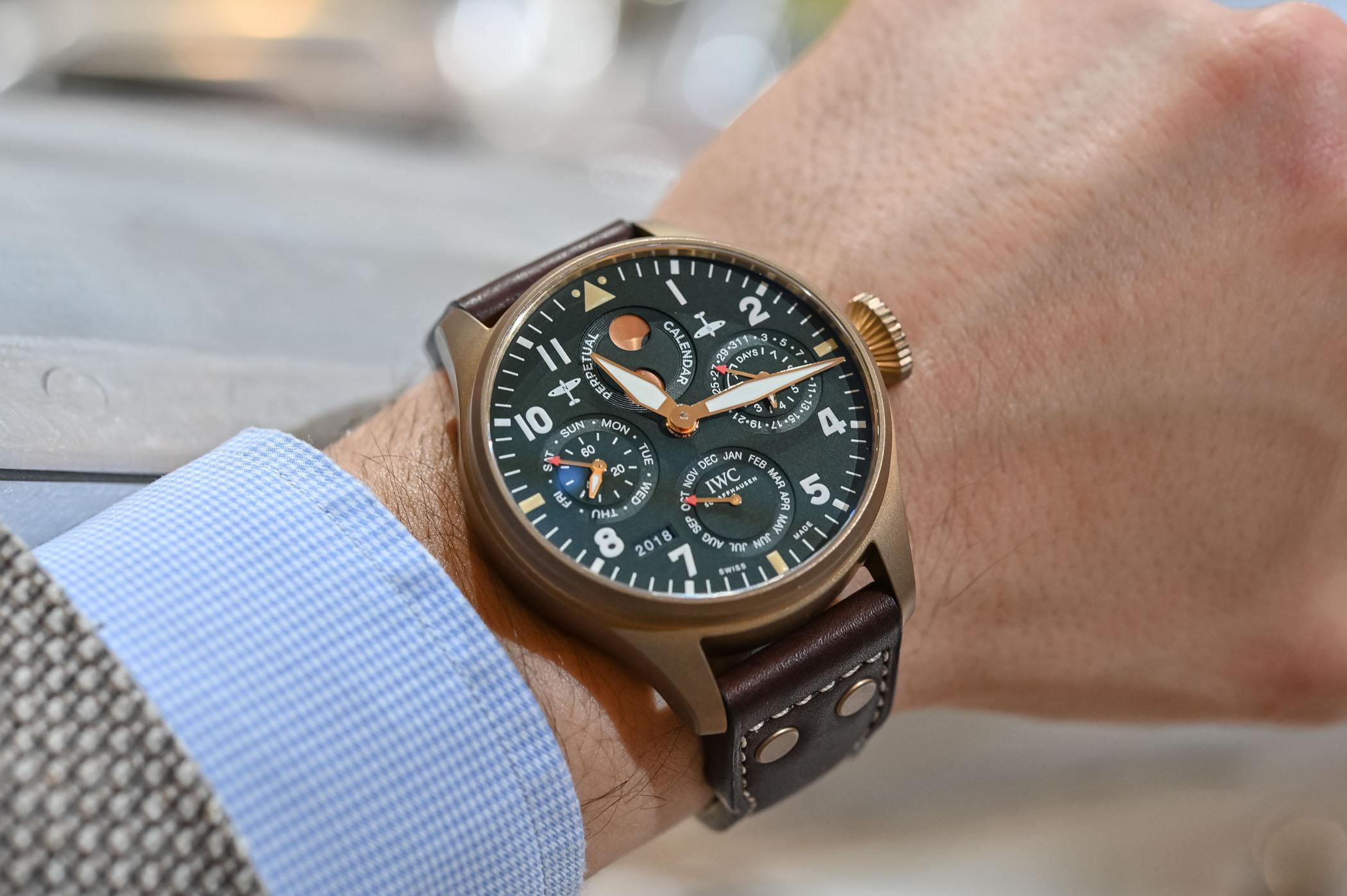 IWC Big Pilot's Watch Perpetual Calendar Spitfire Bronze IW503601