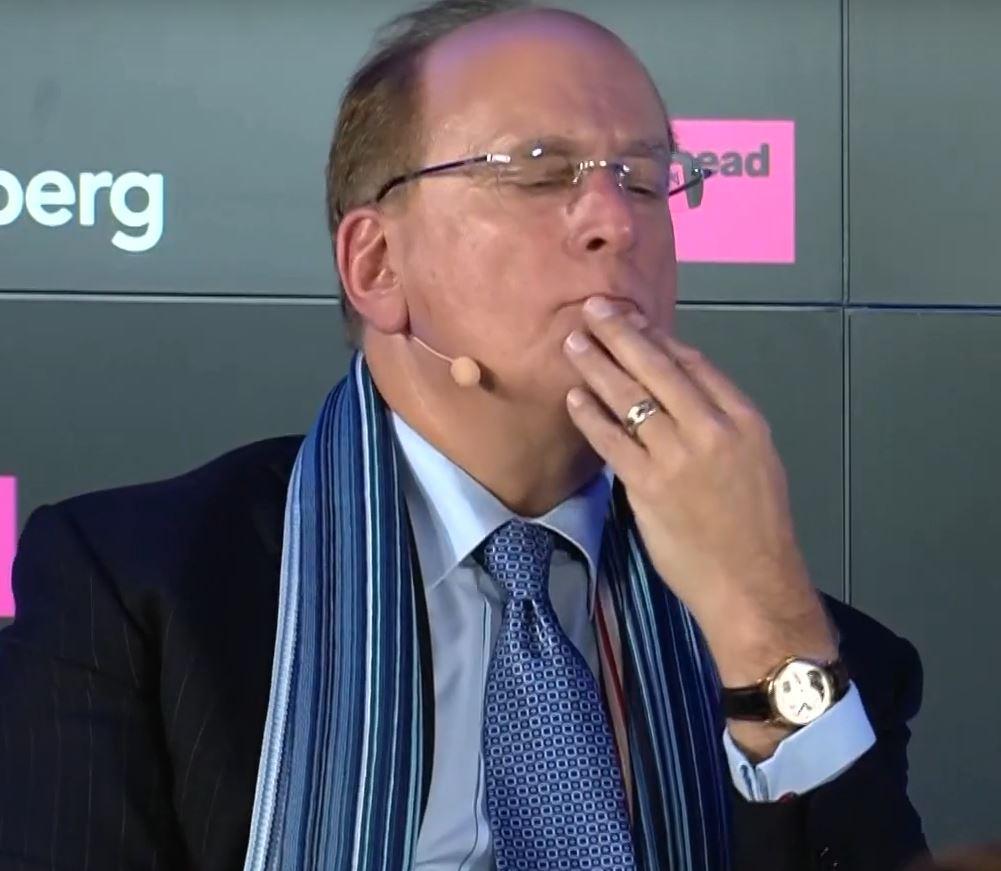 Larry Fink Davos 2020