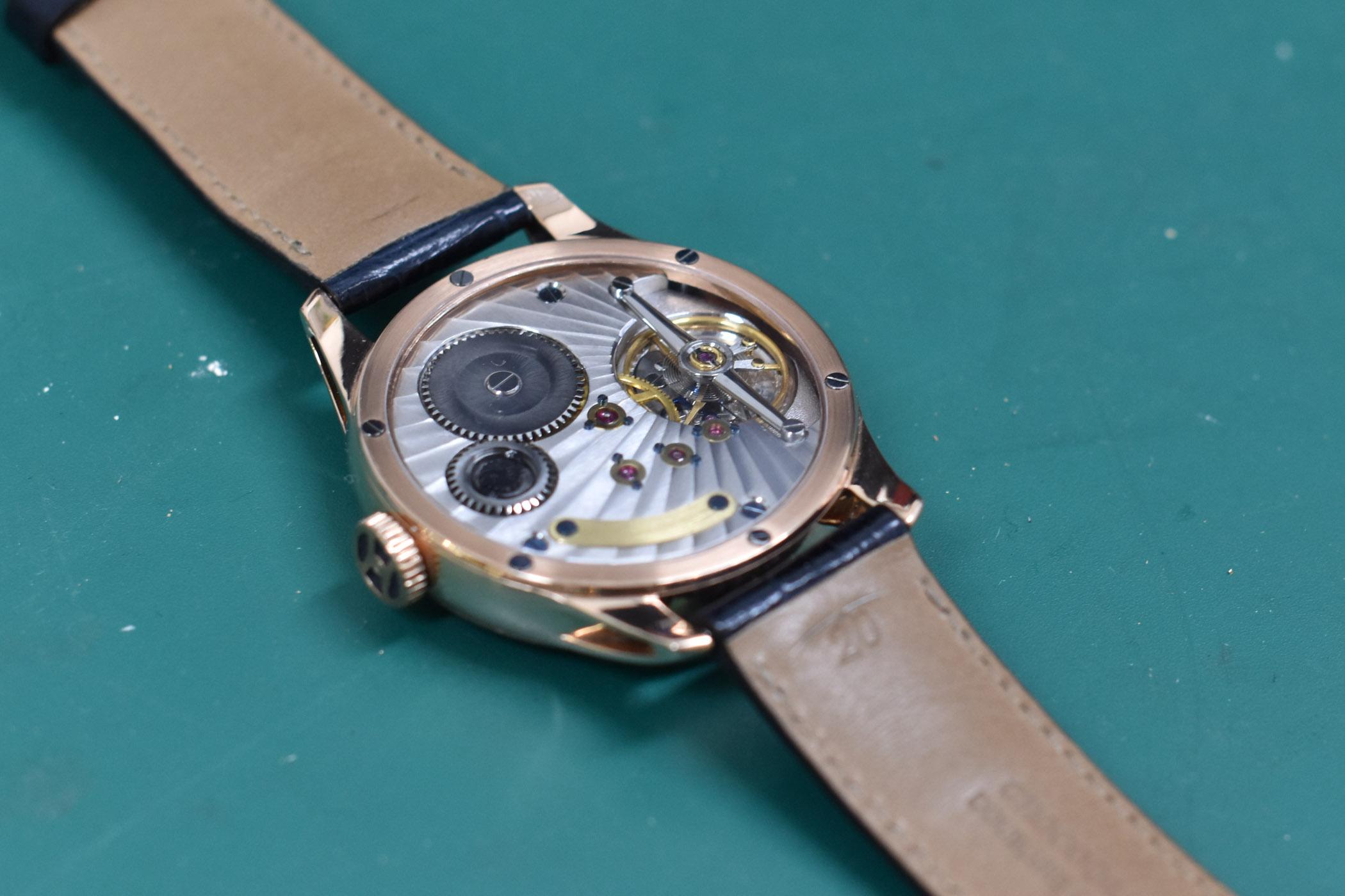 Machiel Hulsman Dutch Watchmaker Self-Made Tourbillon - 3