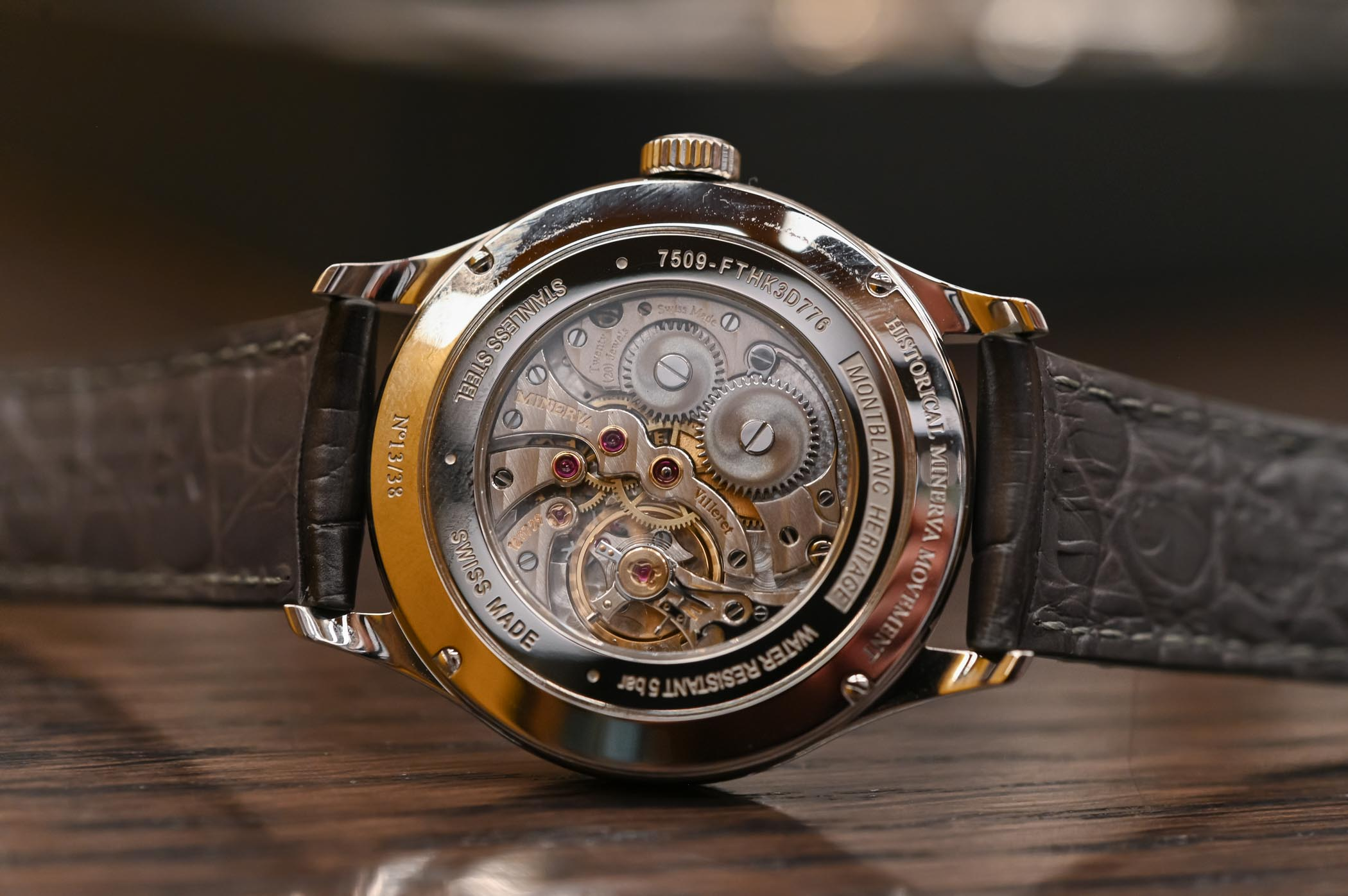 Montblanc Heritage Small Second Limited Edition 38 Minerva Movement