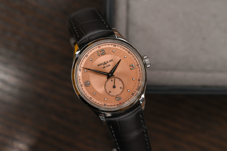 Montblanc Heritage Small Second Limited Edition 38, With Historic Minerva Movement