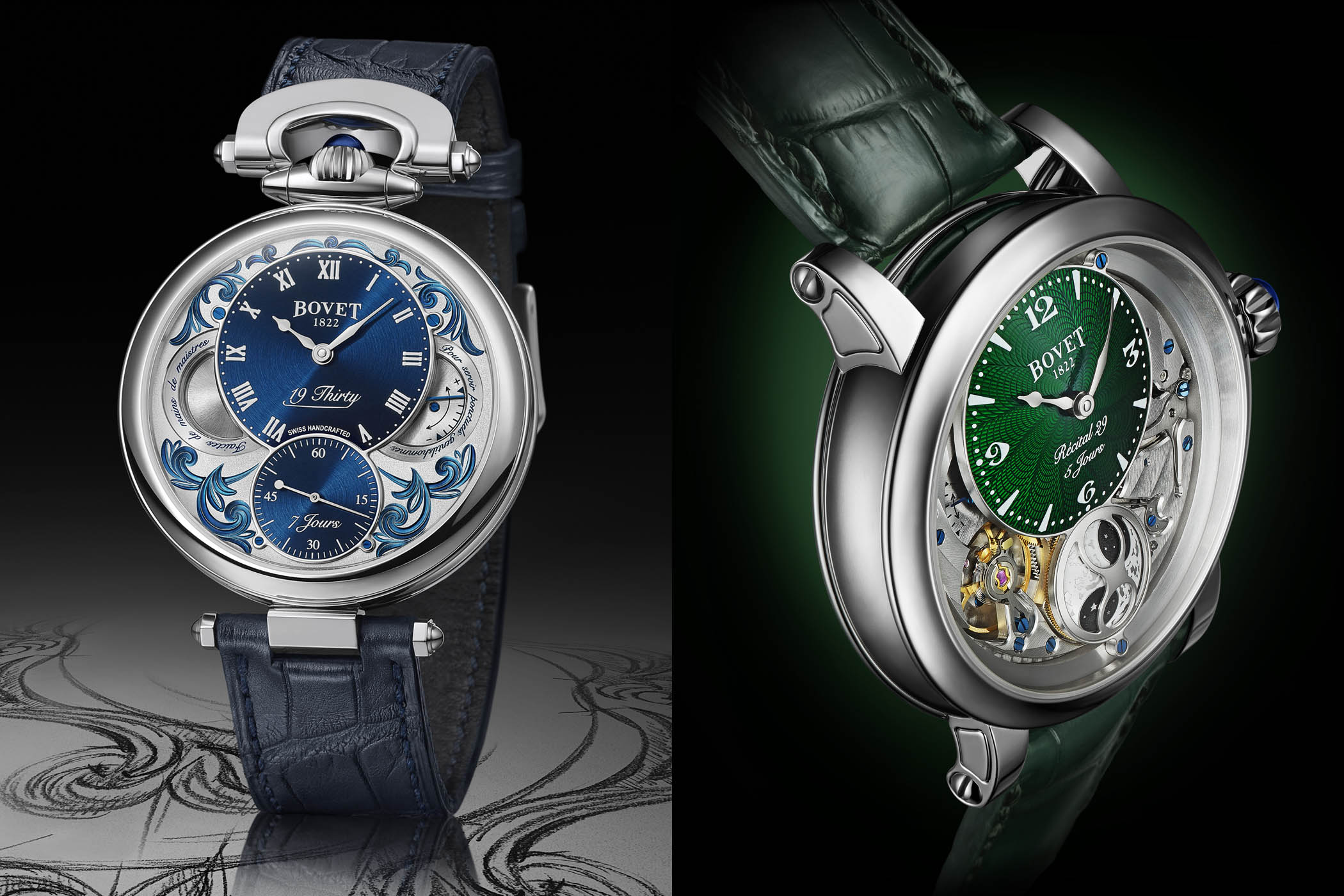 Bovet Fleurier 19Thirty Fleurisane and All-New Bovet Dimier Recital 29