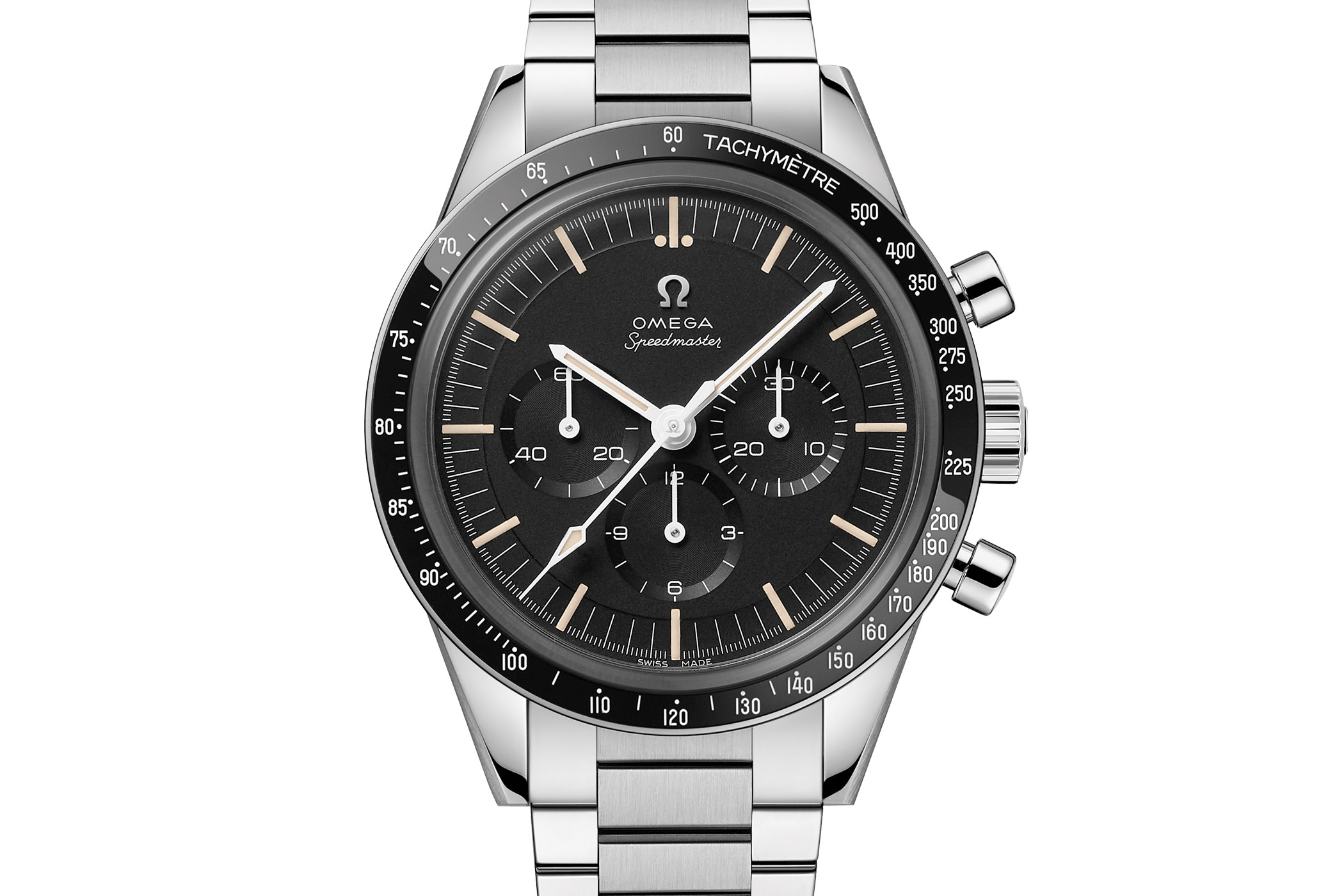 Omega Speedmaster Moonwatch 321 Stainless Steel Ed White - 311.30.40.30.01.001