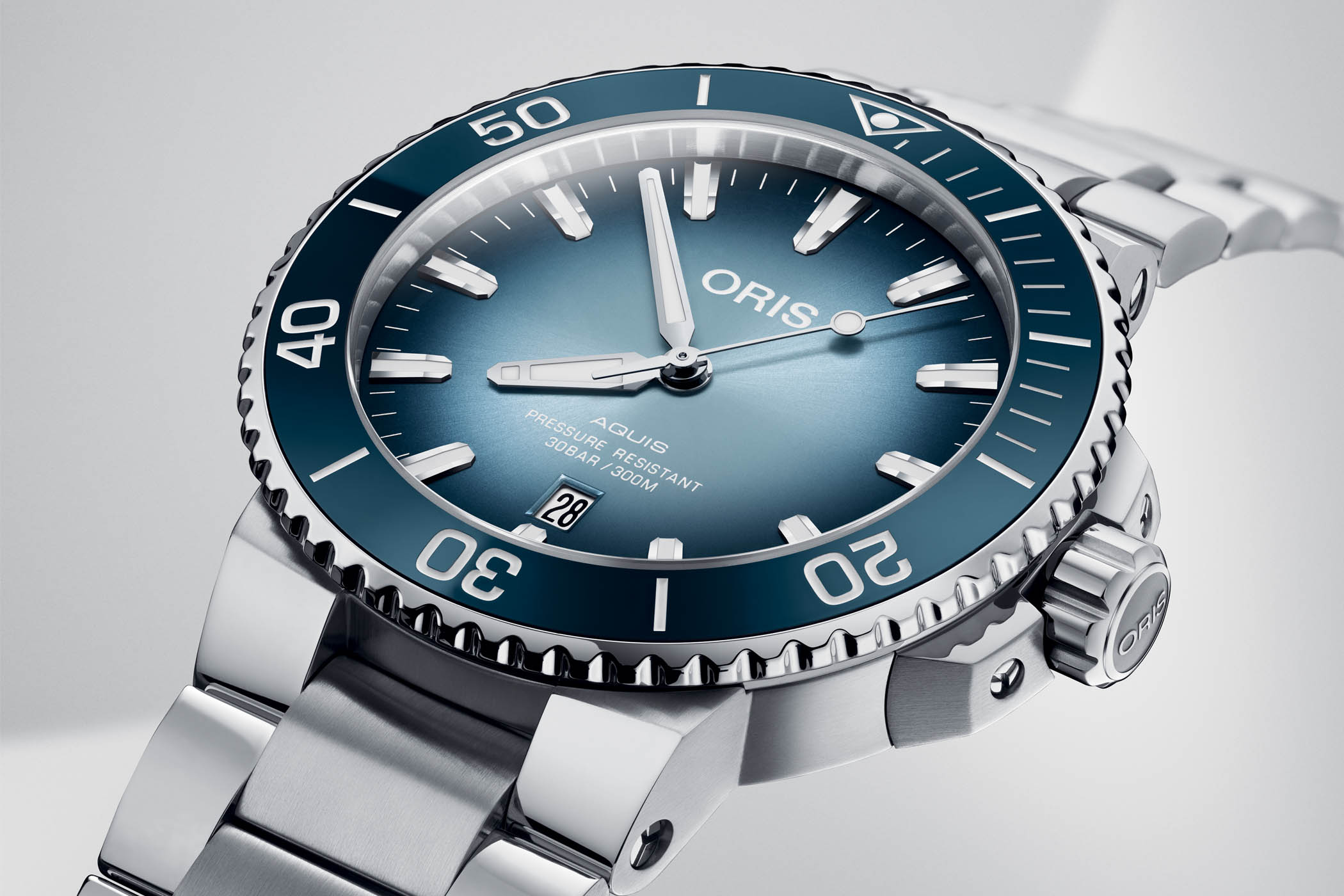 Oris Aquis Lake Baikal Limited Edition