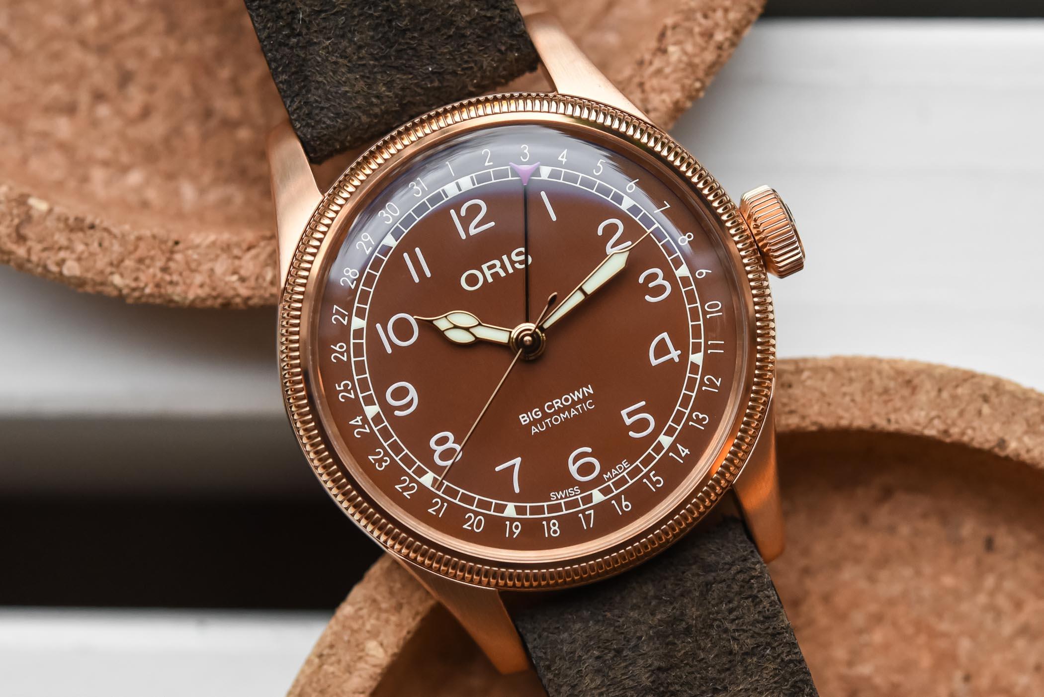 Oris Big Crown Bronze Pointer Date 40mm Bronze Dial