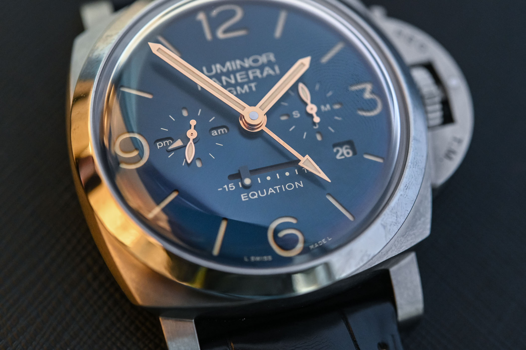 Panerai Luminor Equation of Time 47mm Titanio PAM00670