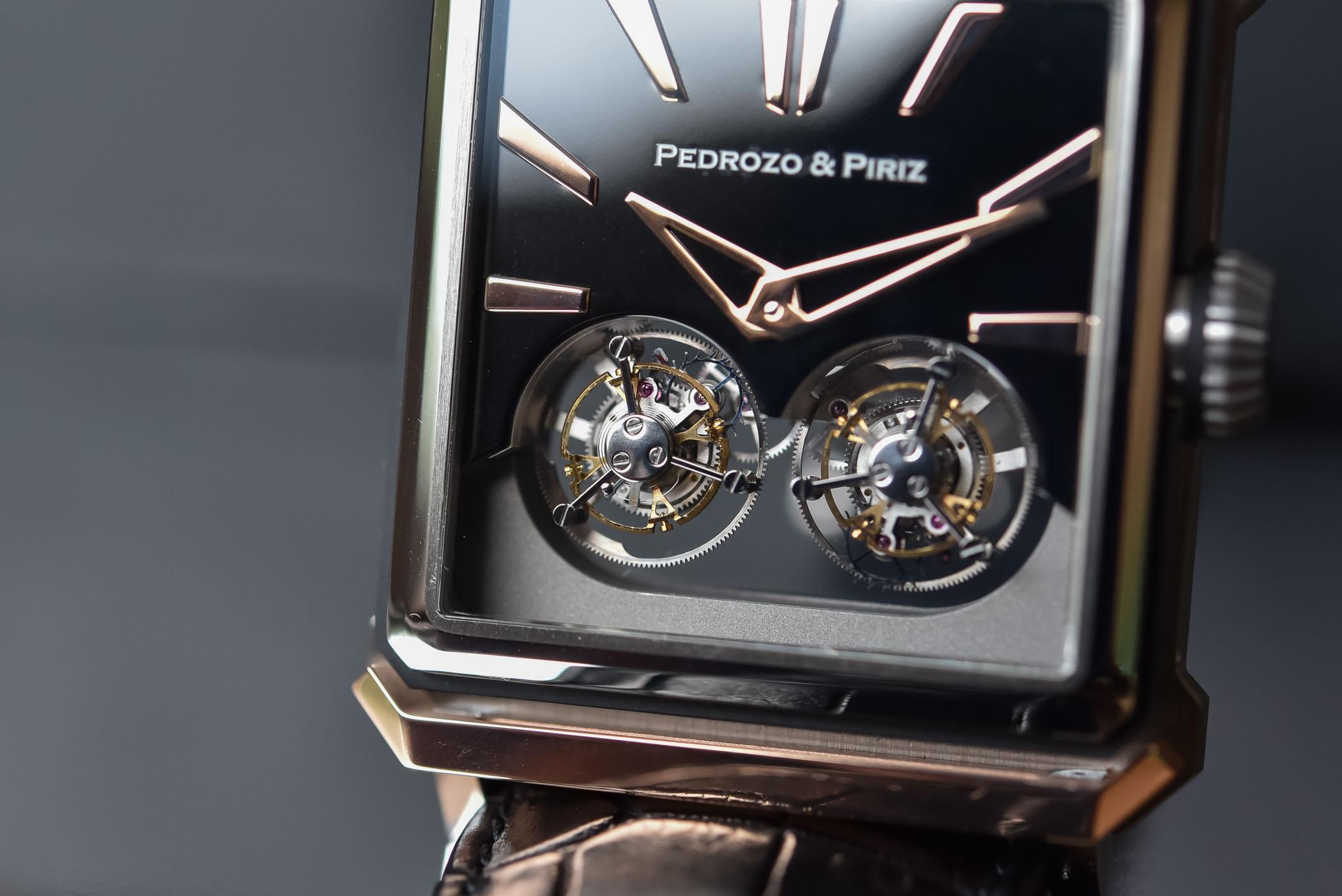 Pedrozo & Piriz Double Tourbillon