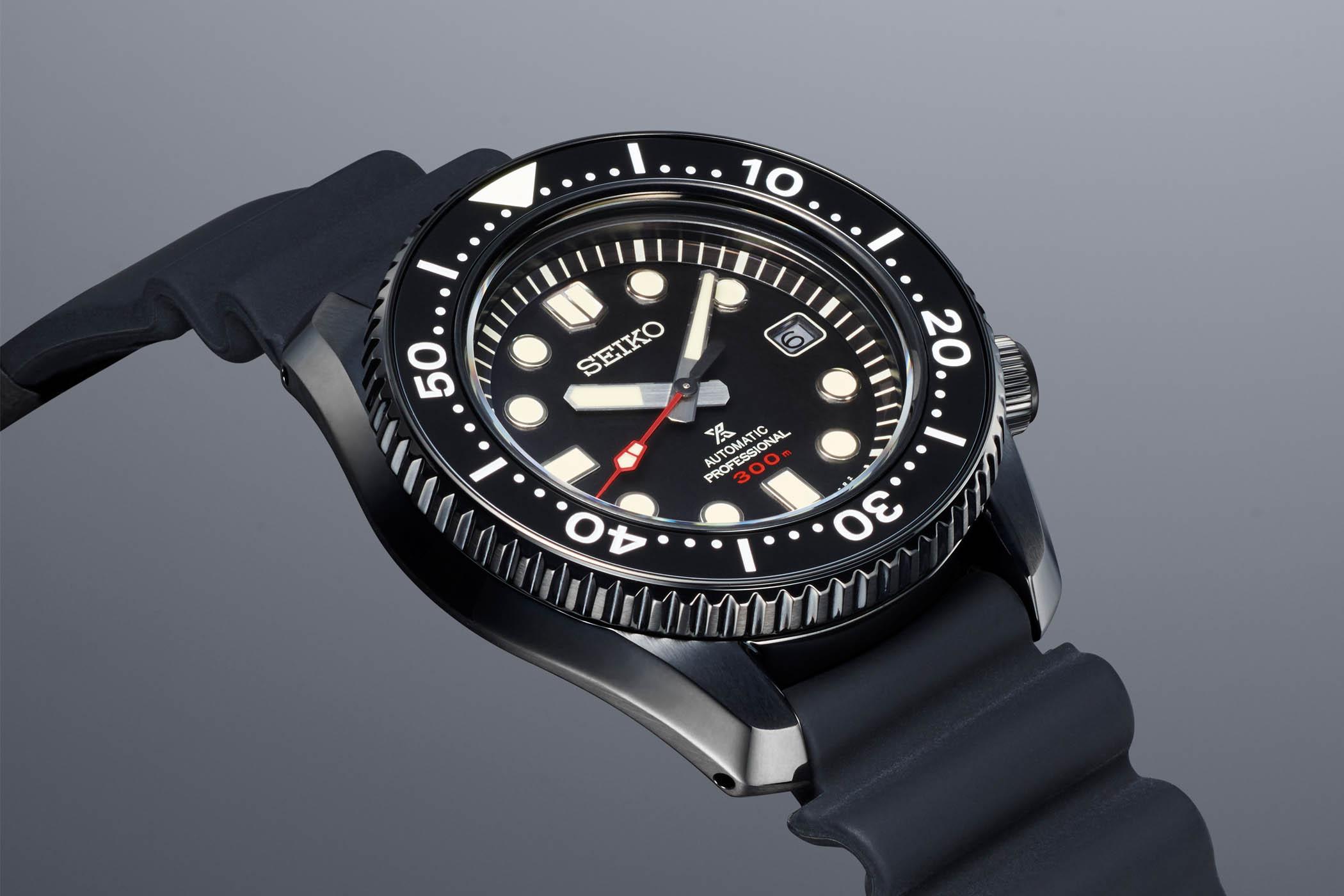 Seiko Prospex Black Series Limited Edition SLA035J1