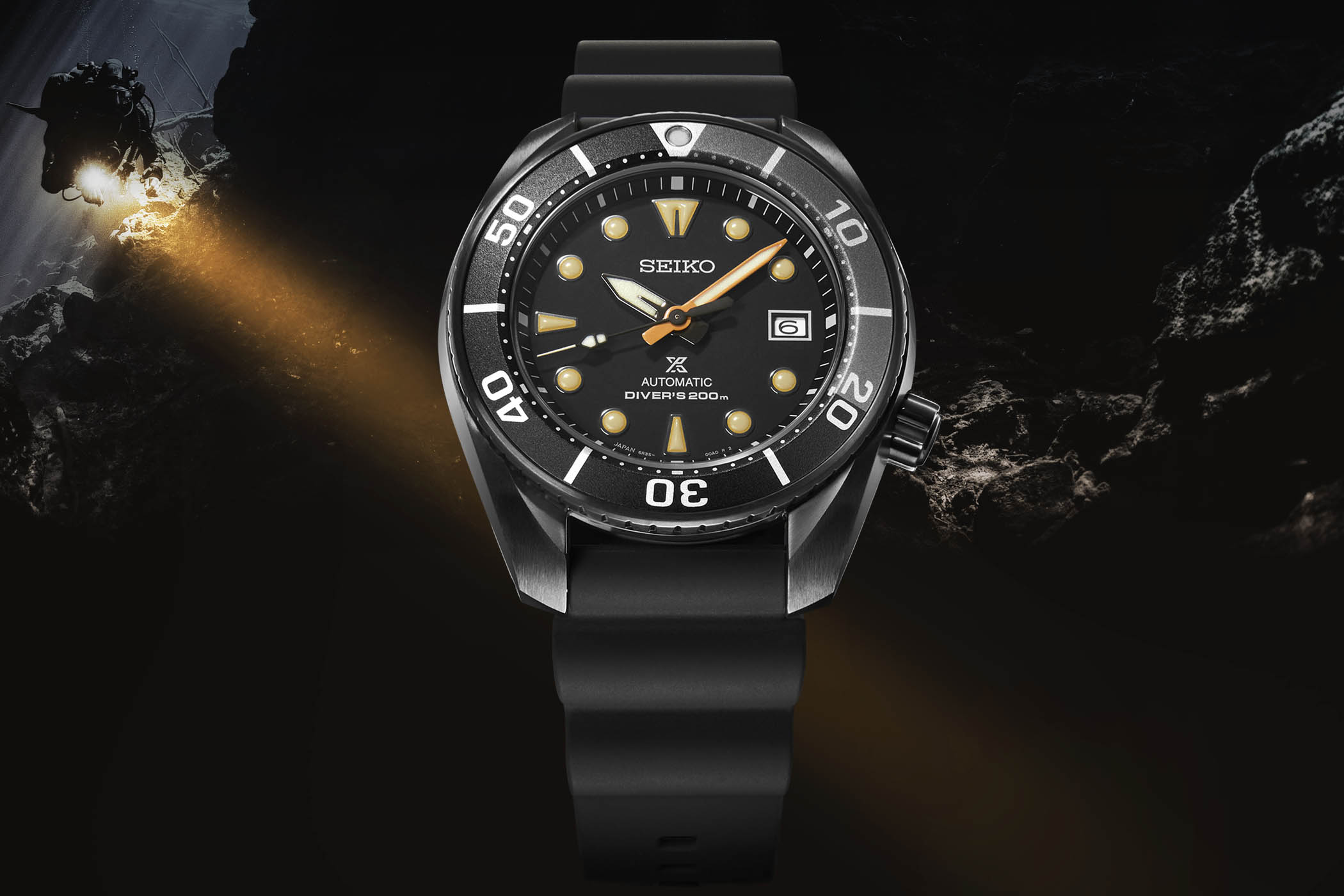 Seiko Prospex Black Series Limited Edition Sumo SPB125J1