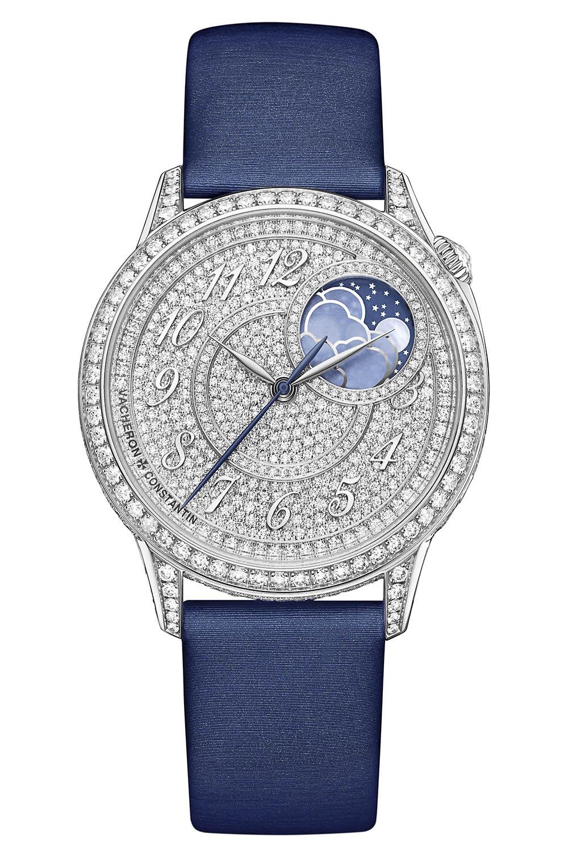 2020 Vacheron Constantin Egerie Moon-Phase Diamond Paved 37mm - 8006F - 4