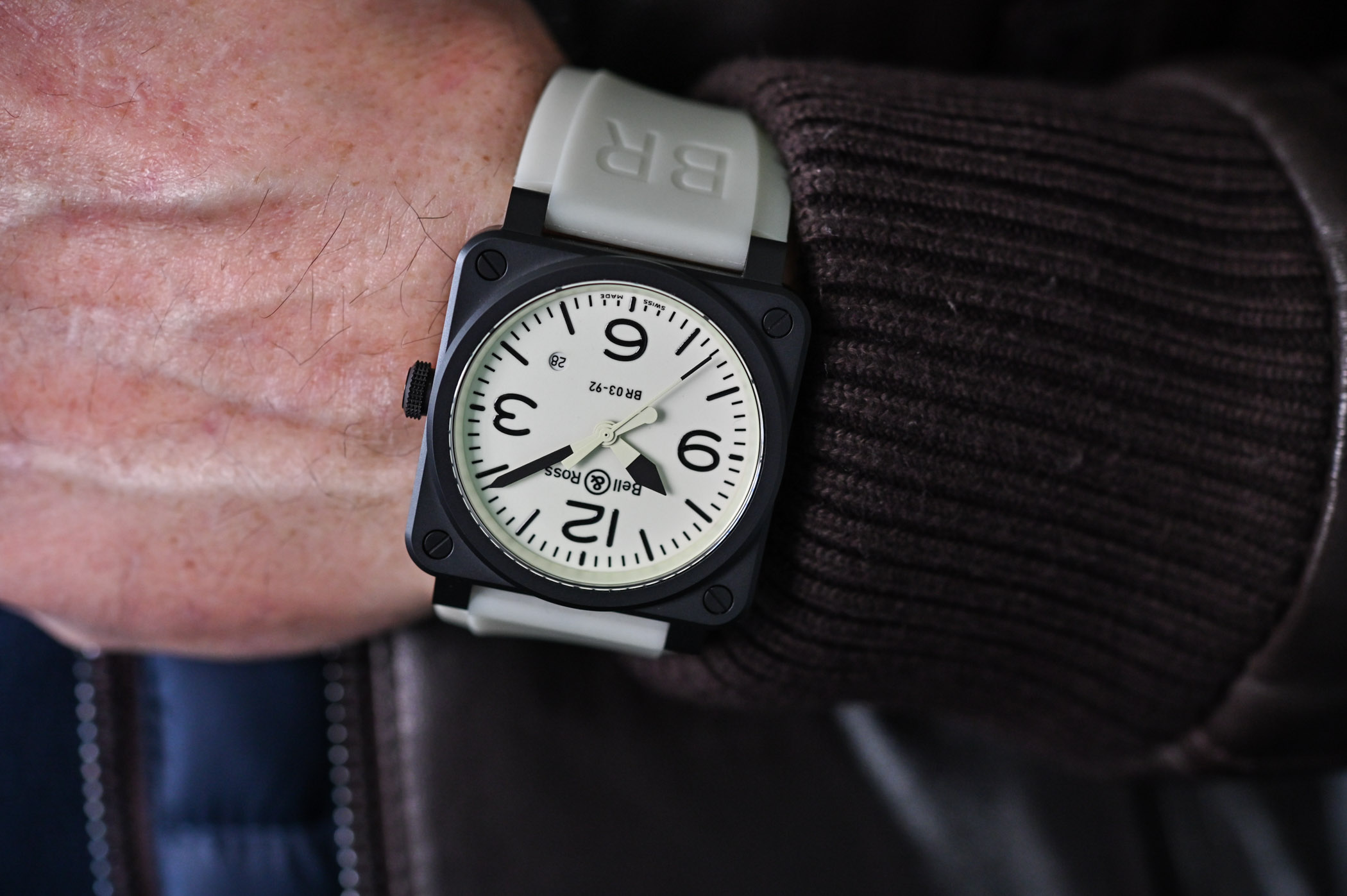 Bell & Ross BR 03-92 GREY LUM and the LUM Collection // Review, Price