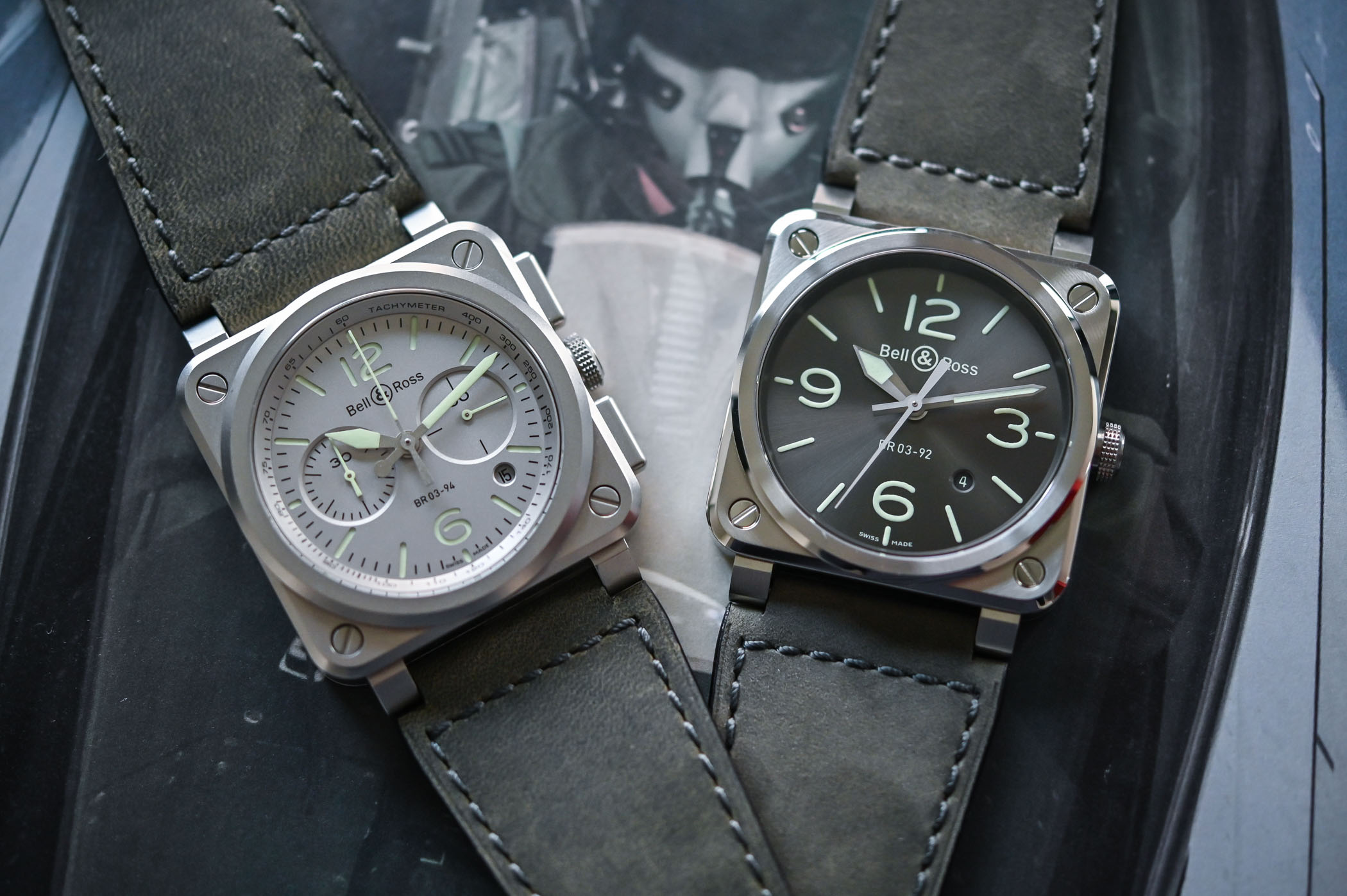 Bell & Ross BR 03 LUM Collection