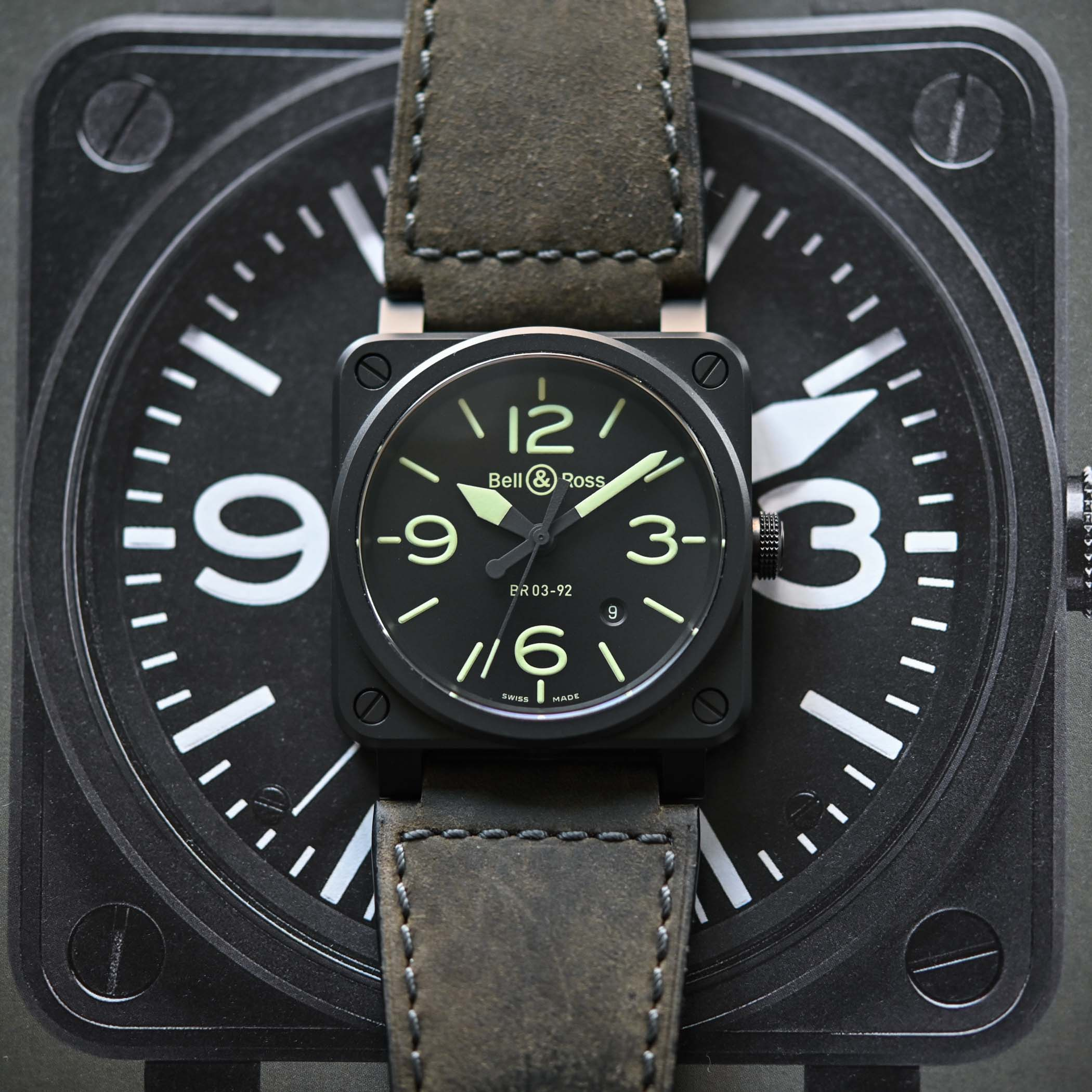 Bell and Ross BR 03-92 NIGHTLUM - 2