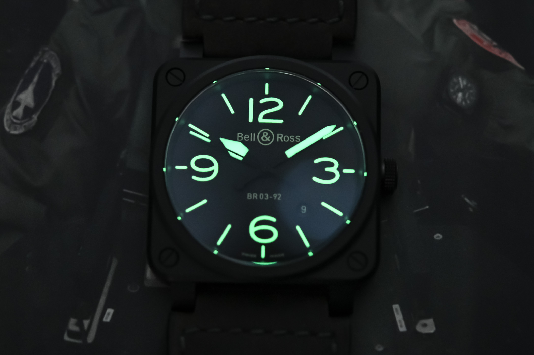 Bell and Ross BR 03-92 NIGHTLUM - 4