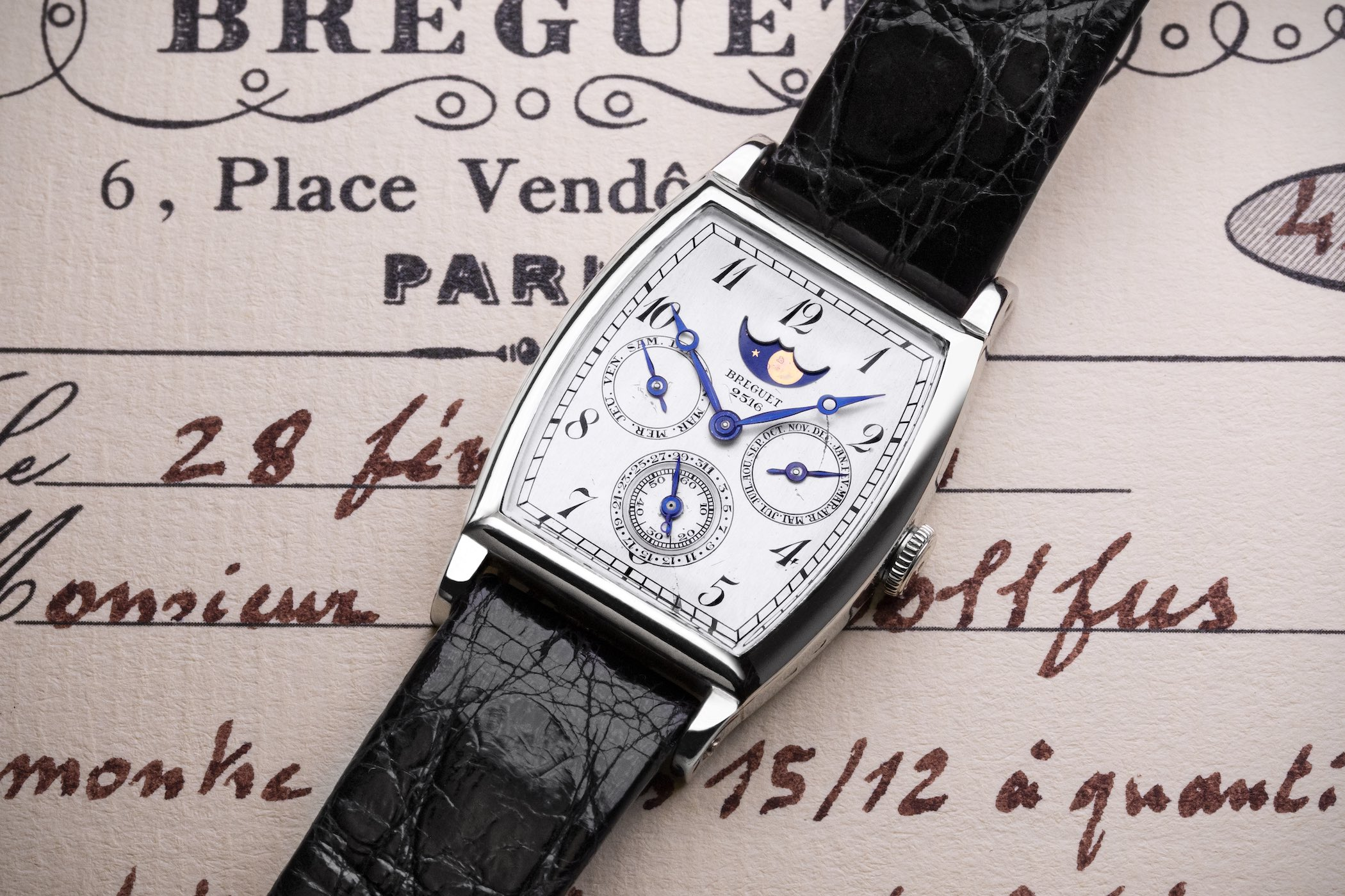 Breguet 2516 Possibly First Purpose-Built Perpetual Calendar Wristwatch