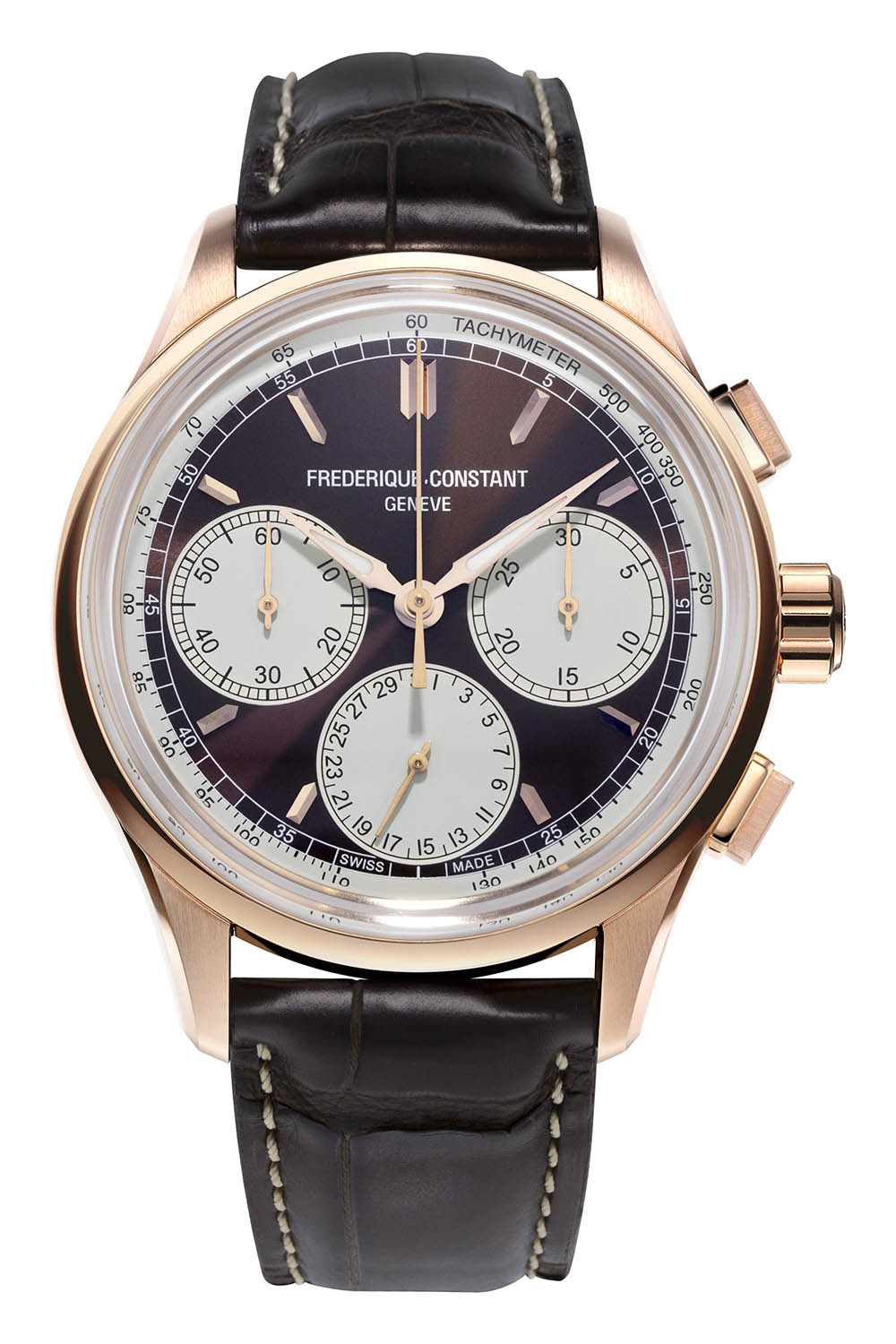 Frederique Constant Flyback Chronograph Manufacture Panda Dials 2020