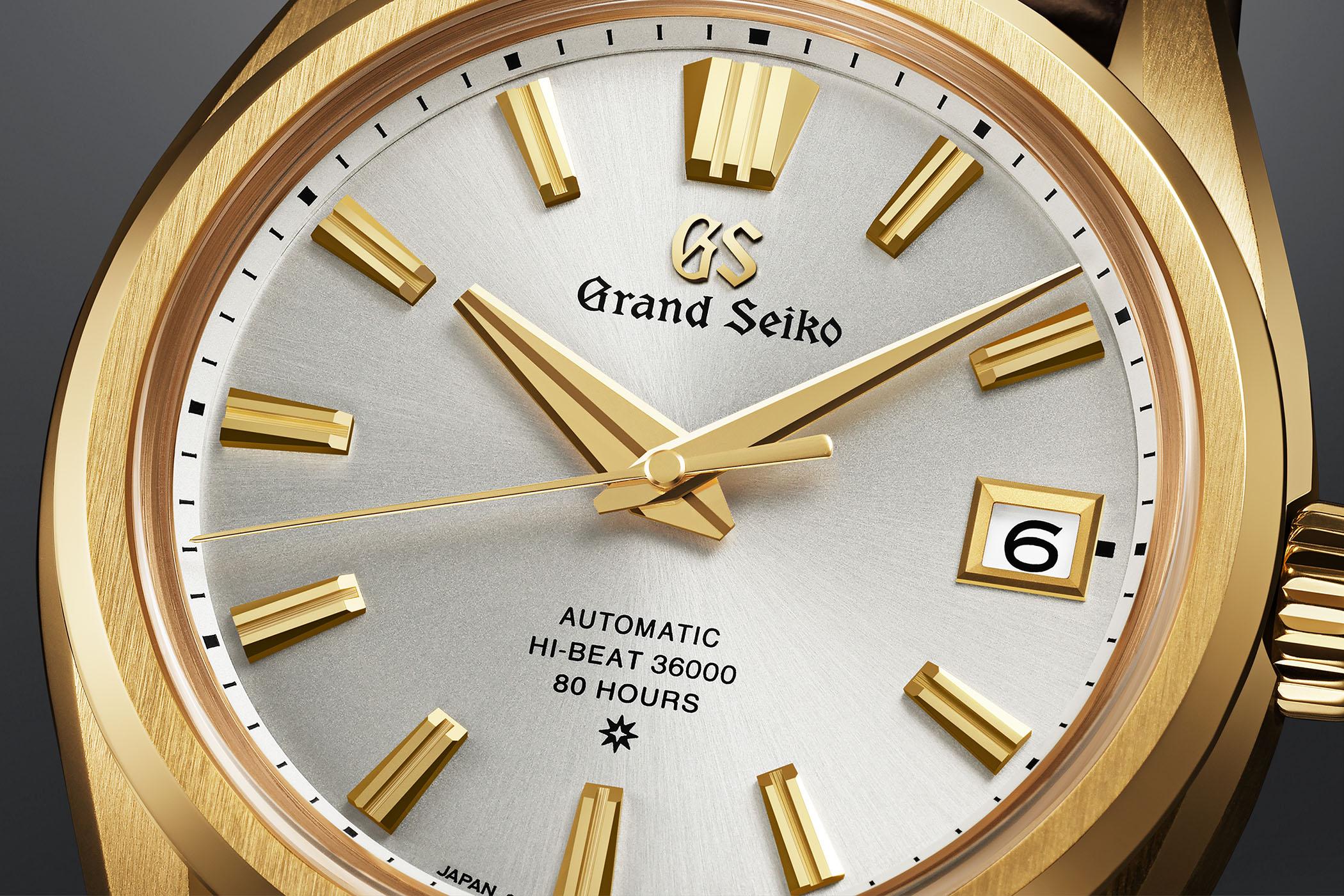 Grand Seiko 60th Anniversary SLGH002 Hi-Beat Calibre 9SA5 Dual Impulse Escapement