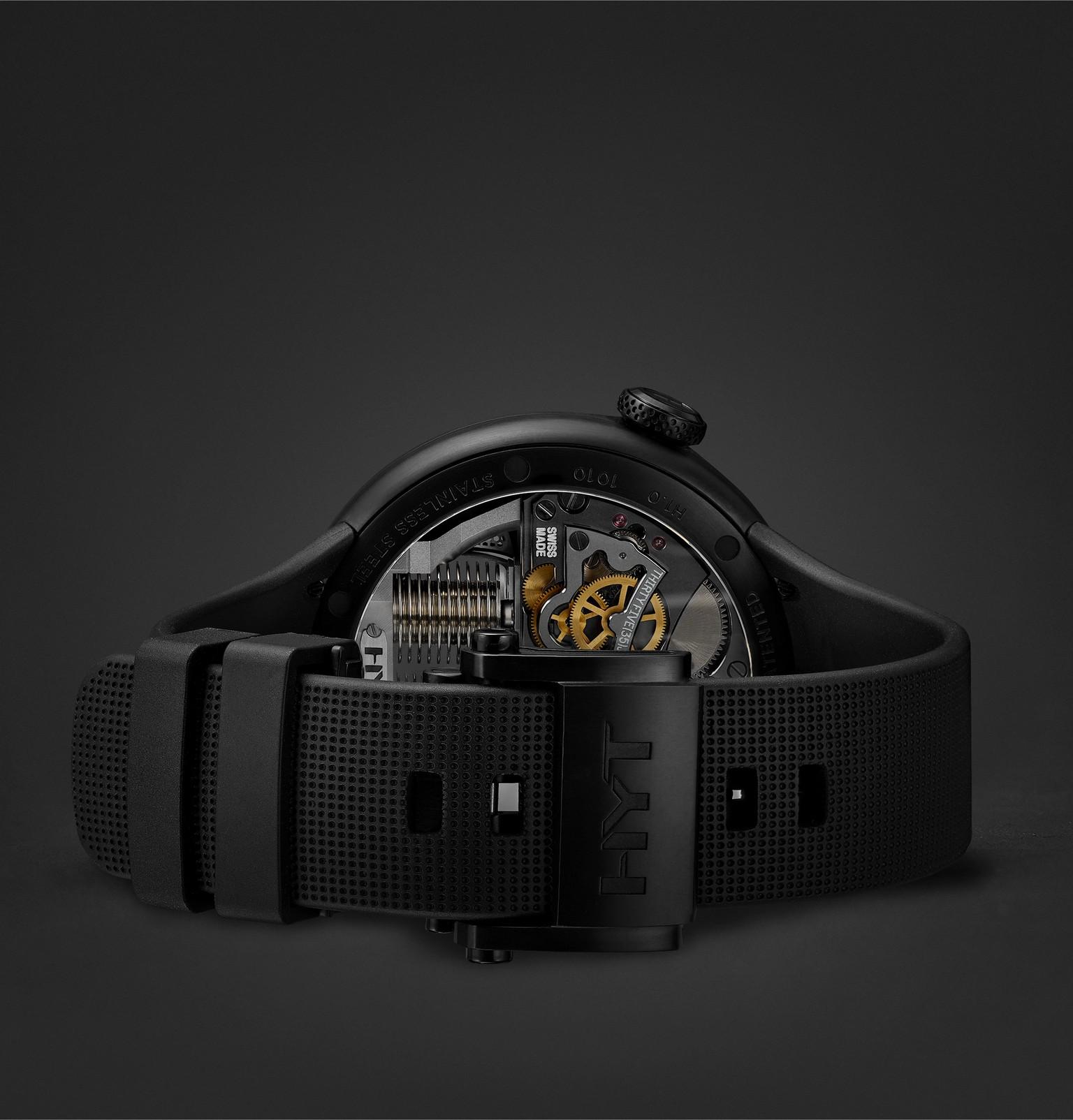 HYT H1.0 Black MR PORTER Edition