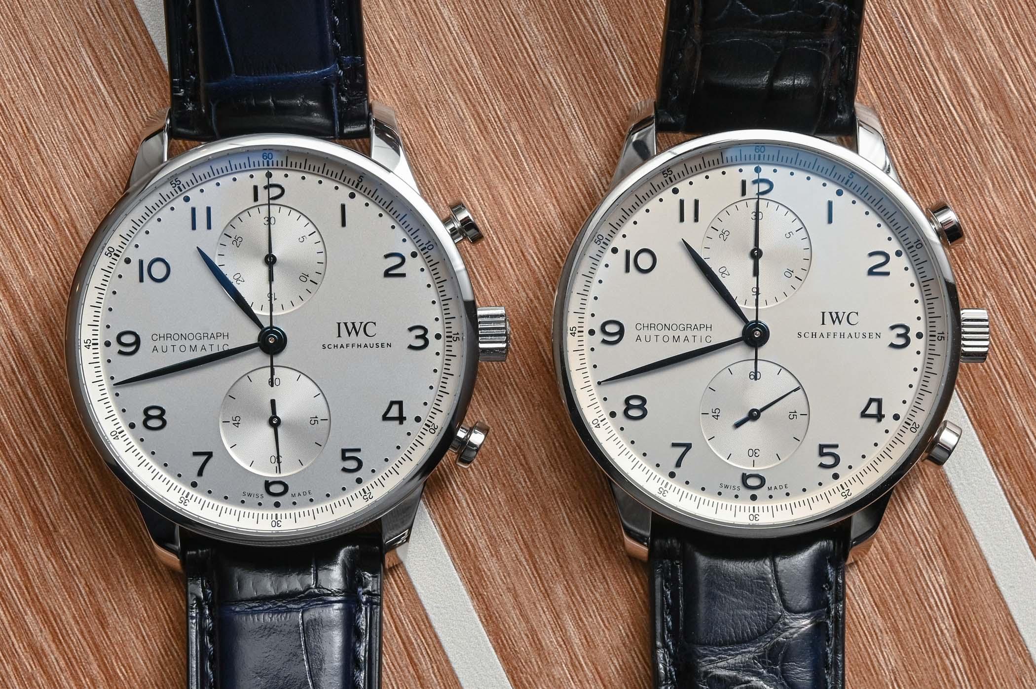 IWC Portugieser Chronograph 3714 vs 3716