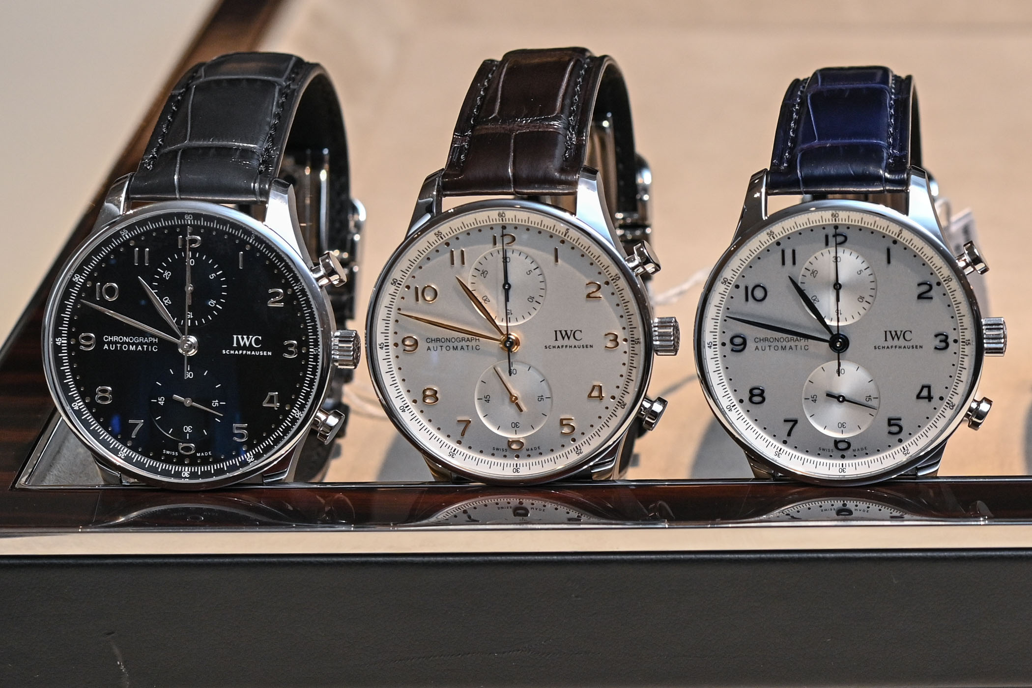IWC Portugieser Chronograph 3716 in-house movement