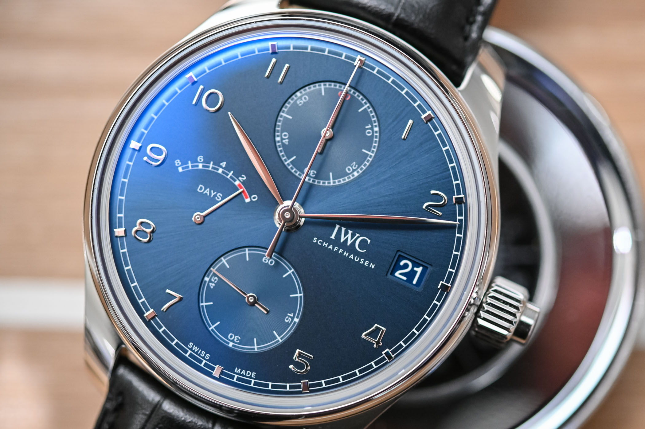 IWC Portugieser Hand-Wound MonoPusher Edition Laureus Sport for Good IW515301