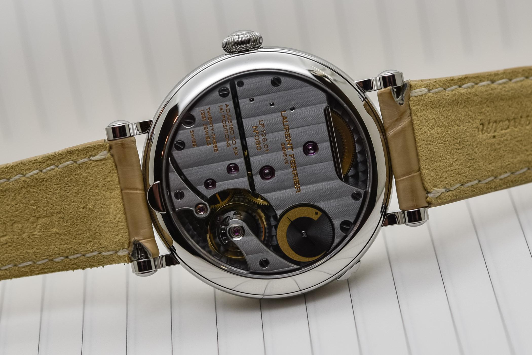 Laurent Ferrier Galet Annual Calendar Vintage - Opaline Yellow Gold Dial