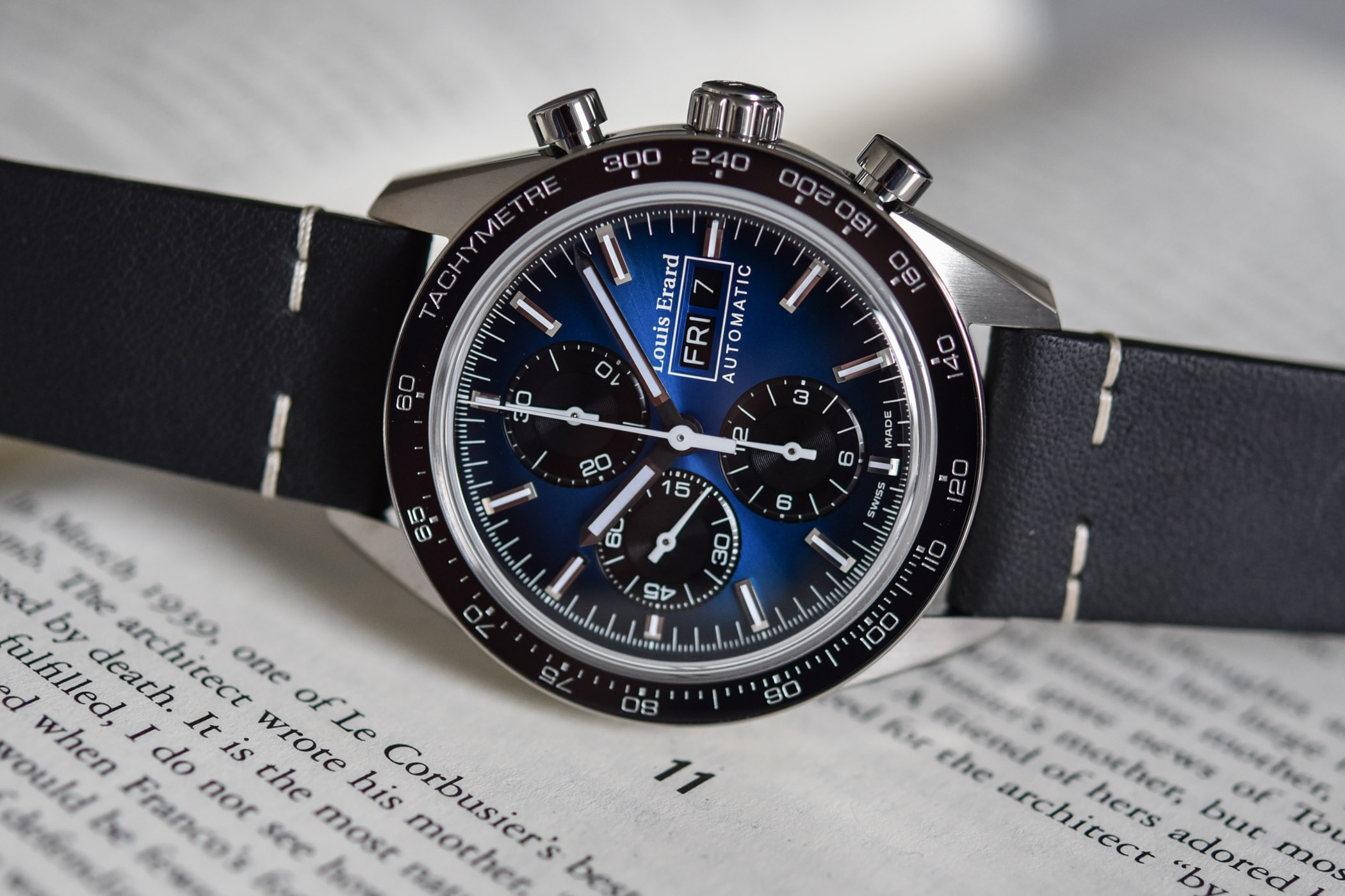 Louis Erard La Sportive Limited Edition Chronographs