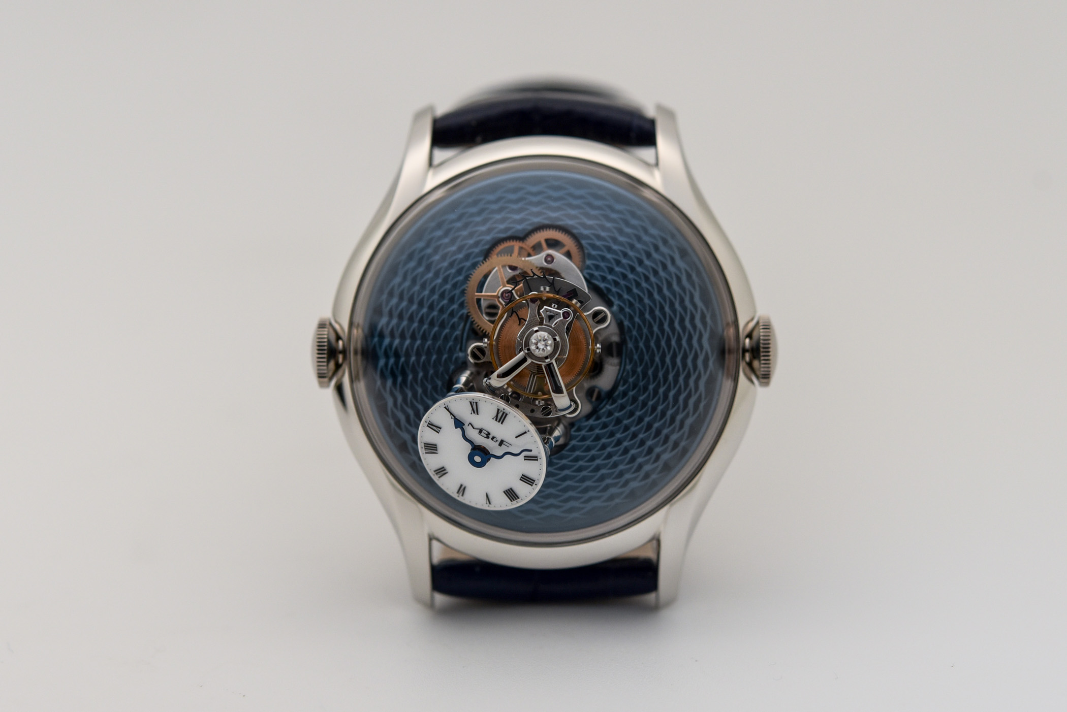 MBandF LM FlyingT Red Gold and Platinum - 2