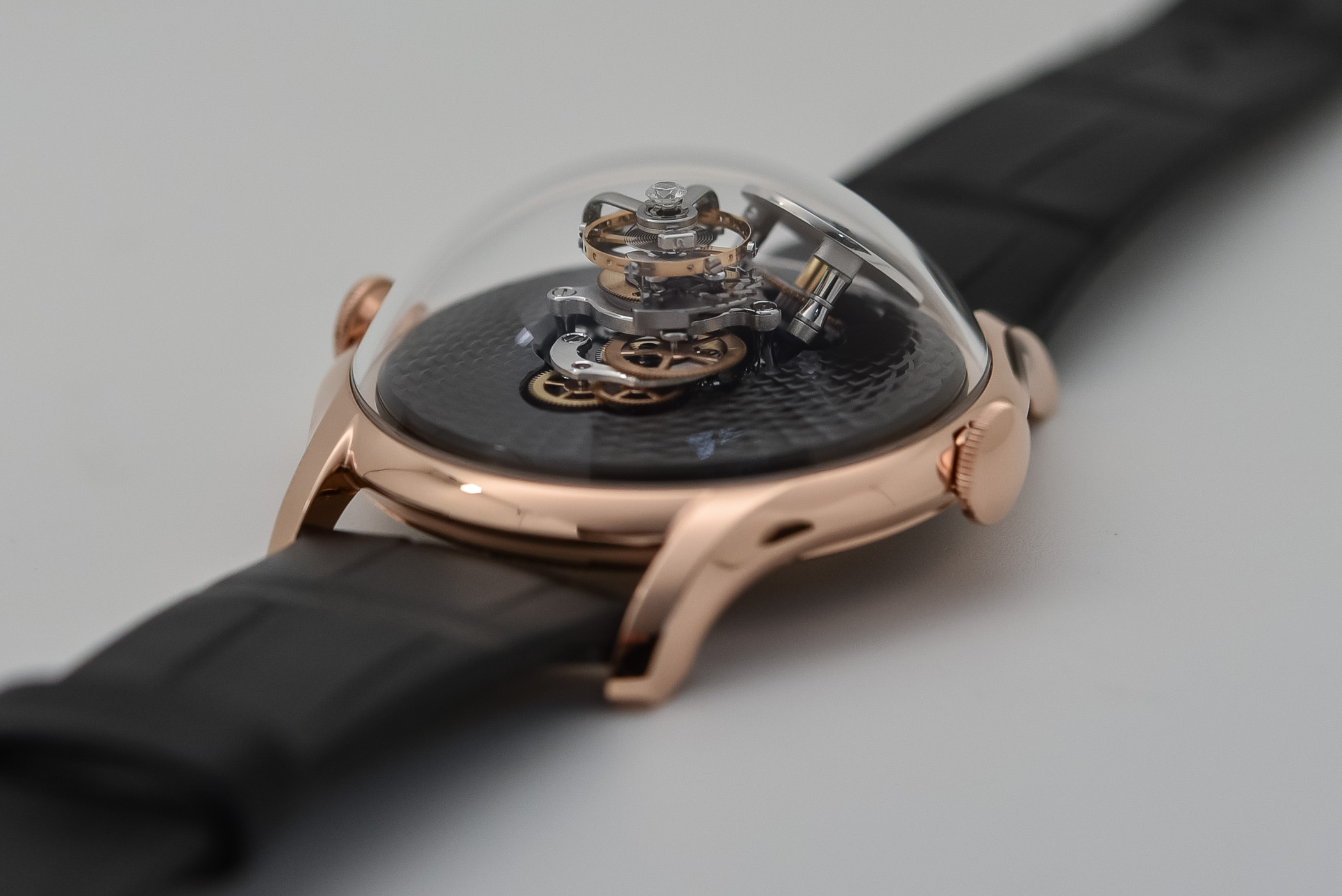 MBandF LM FlyingT Red Gold and Platinum - 5