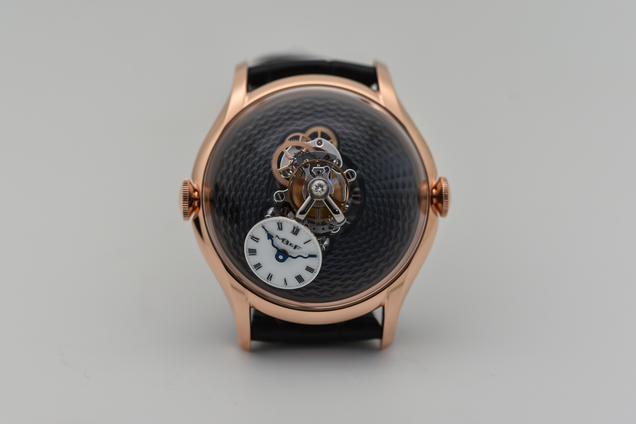 MBandF LM FlyingT Red Gold and Platinum - 6