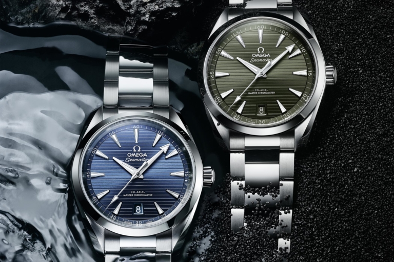 Introducing // Omega Seamaster Aqua Terra 150m, Now in Blue or Green