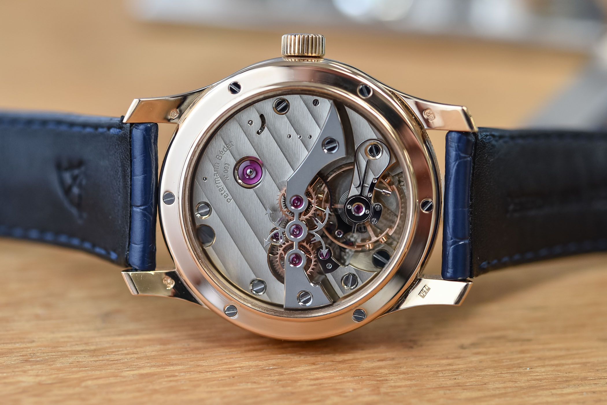 Petermann Bedat Dead-Beat Seconds Calibre 171 Watch