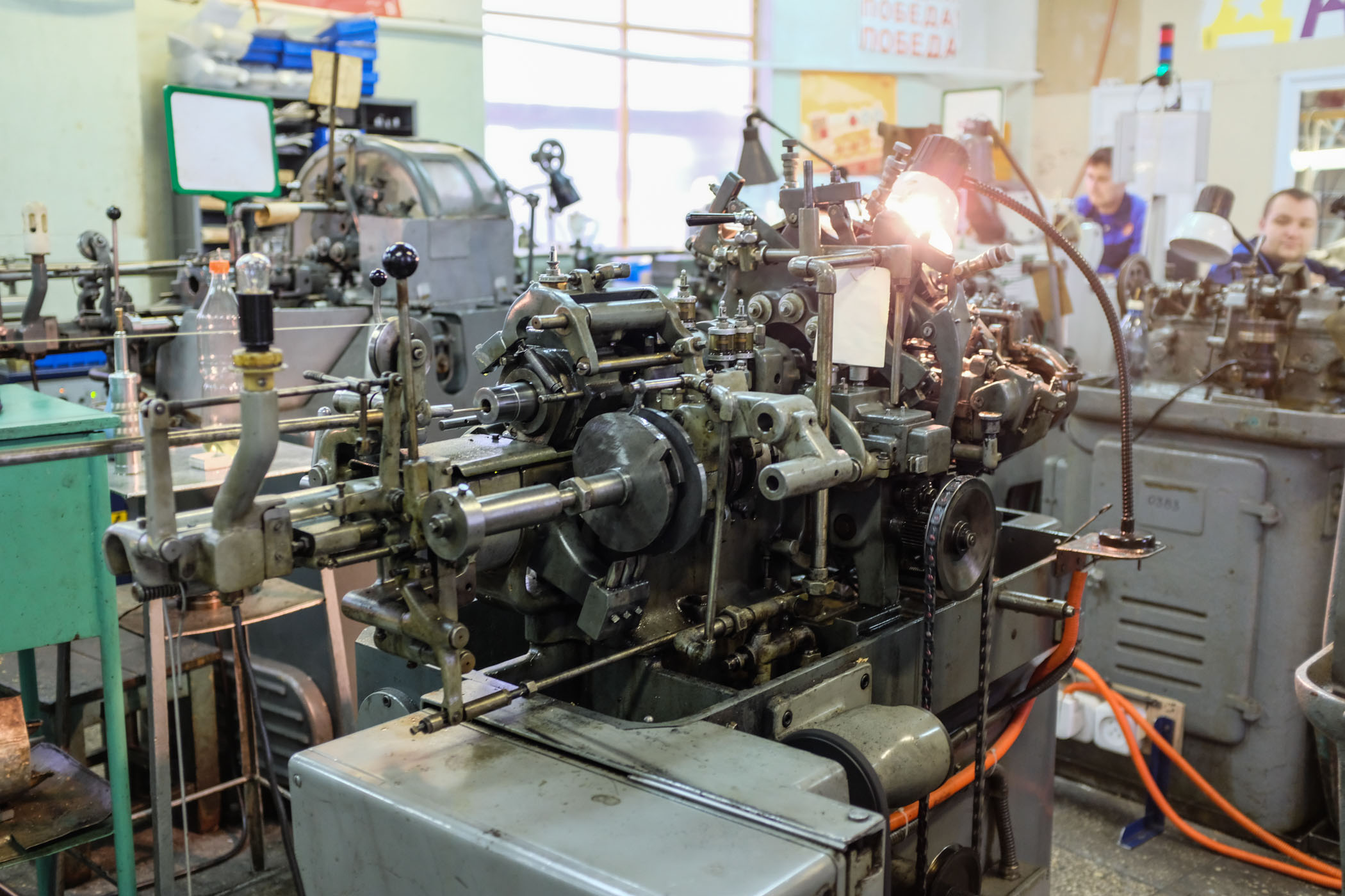 Raketa manufacture Saint petersburg Russia - 11