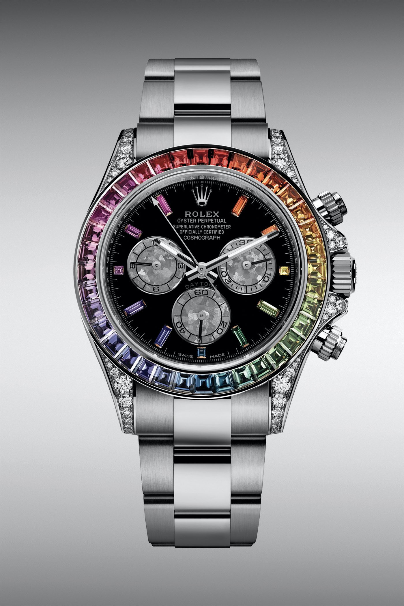 Rolex Daytona Rainbow While Gold 116599RBOW - Rolex Baselworld 2020 - Rolex 2020 Predictions