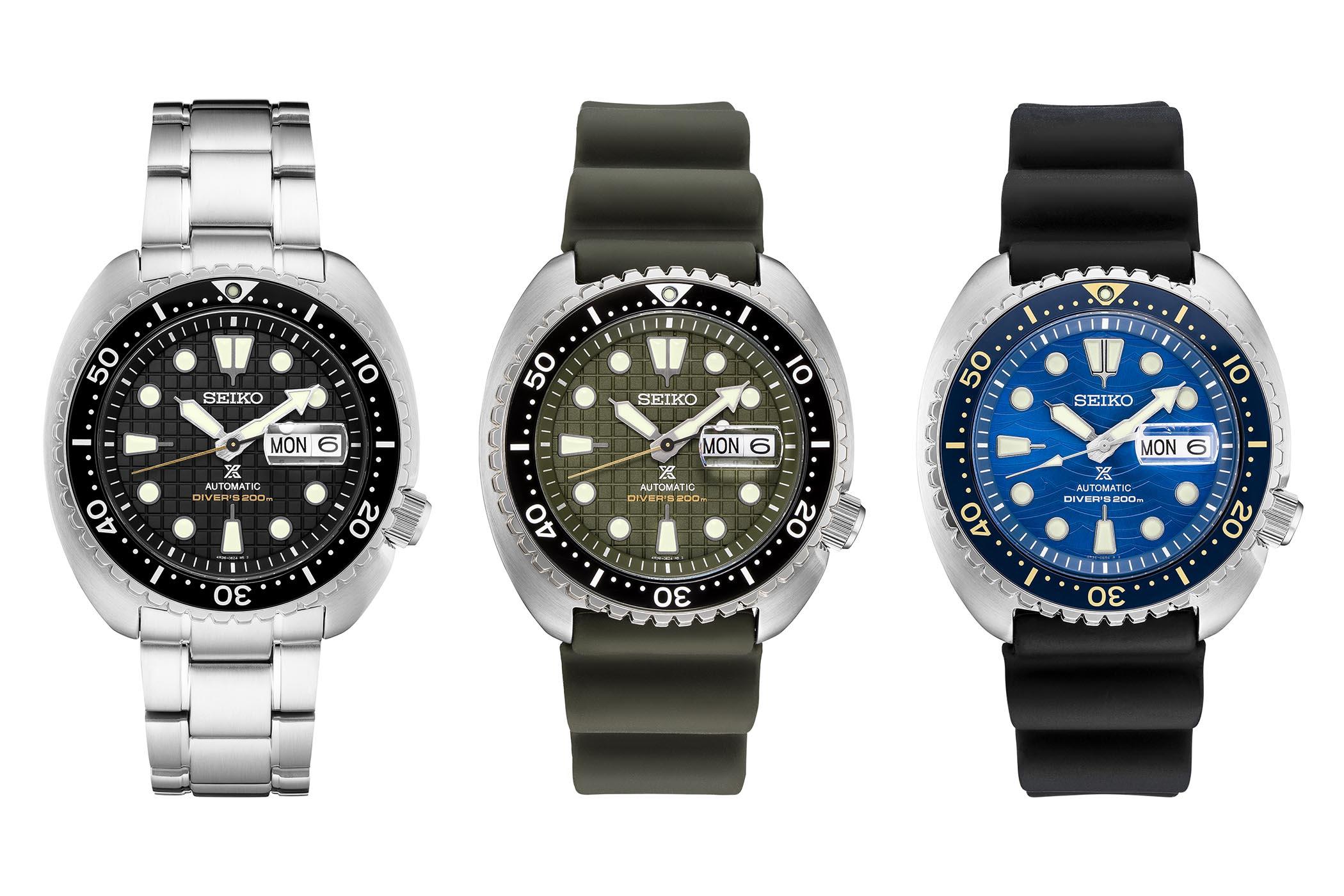 Seiko Prospex Automatic Diver 200m - Seiko King Turtle SRPE03 SRPE05 SRPE07