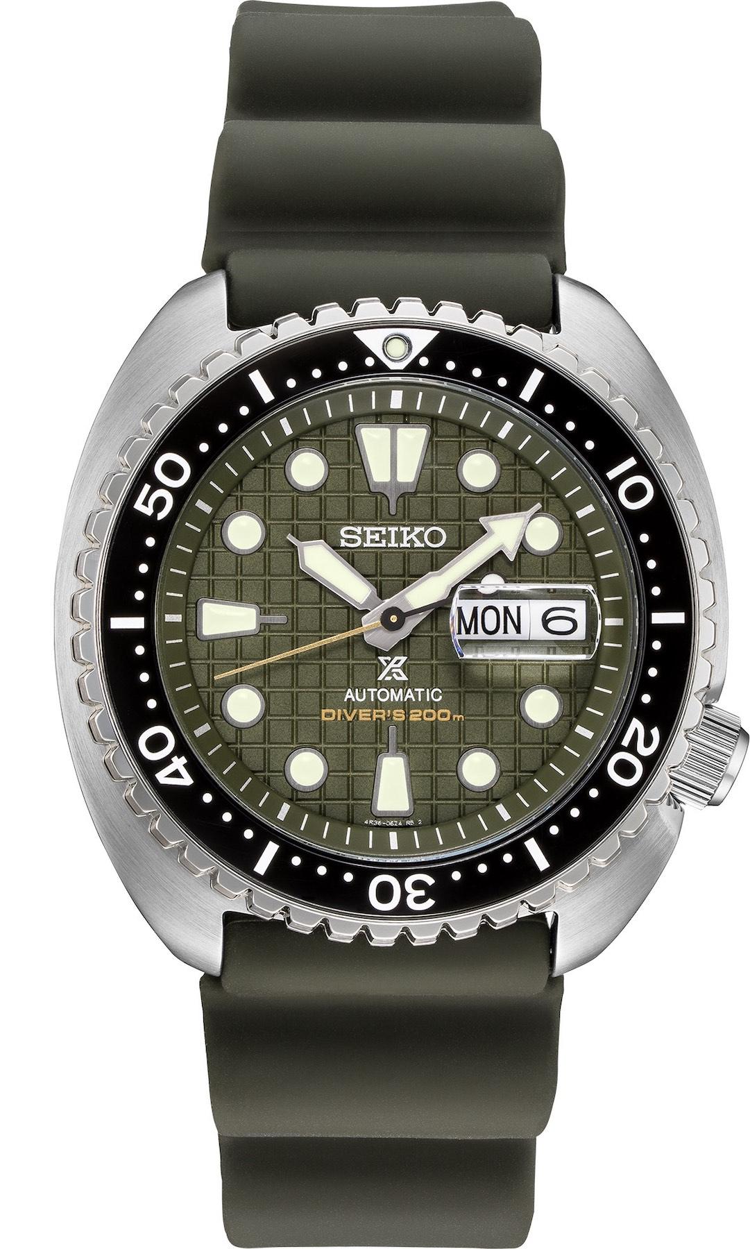 Seiko Prospex Automatic Diver 200m - Seiko King Turtle SRPE05 SRPE05K1