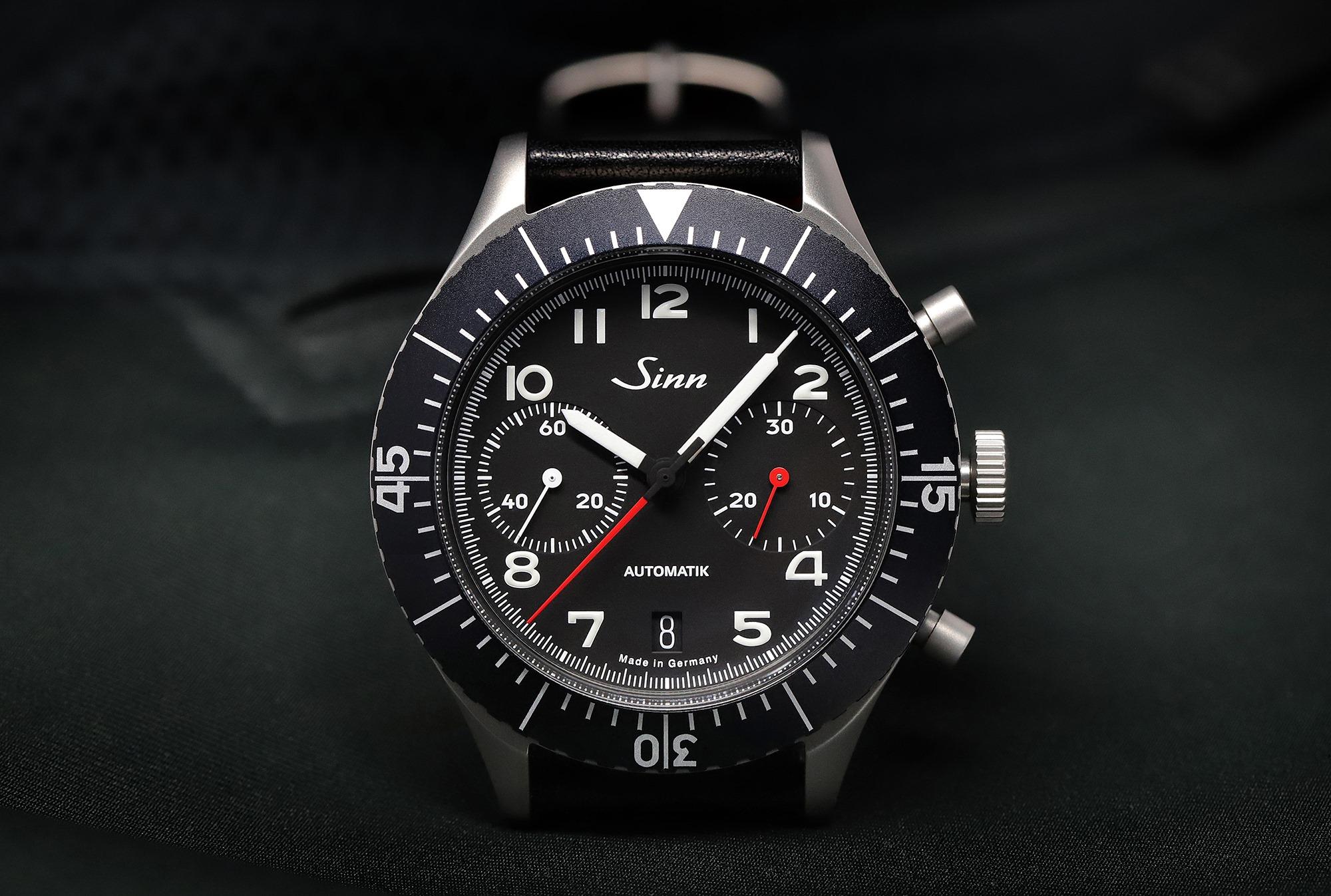 Sinn 158 Chronograph - reedition 1550 SG Bundeswehr