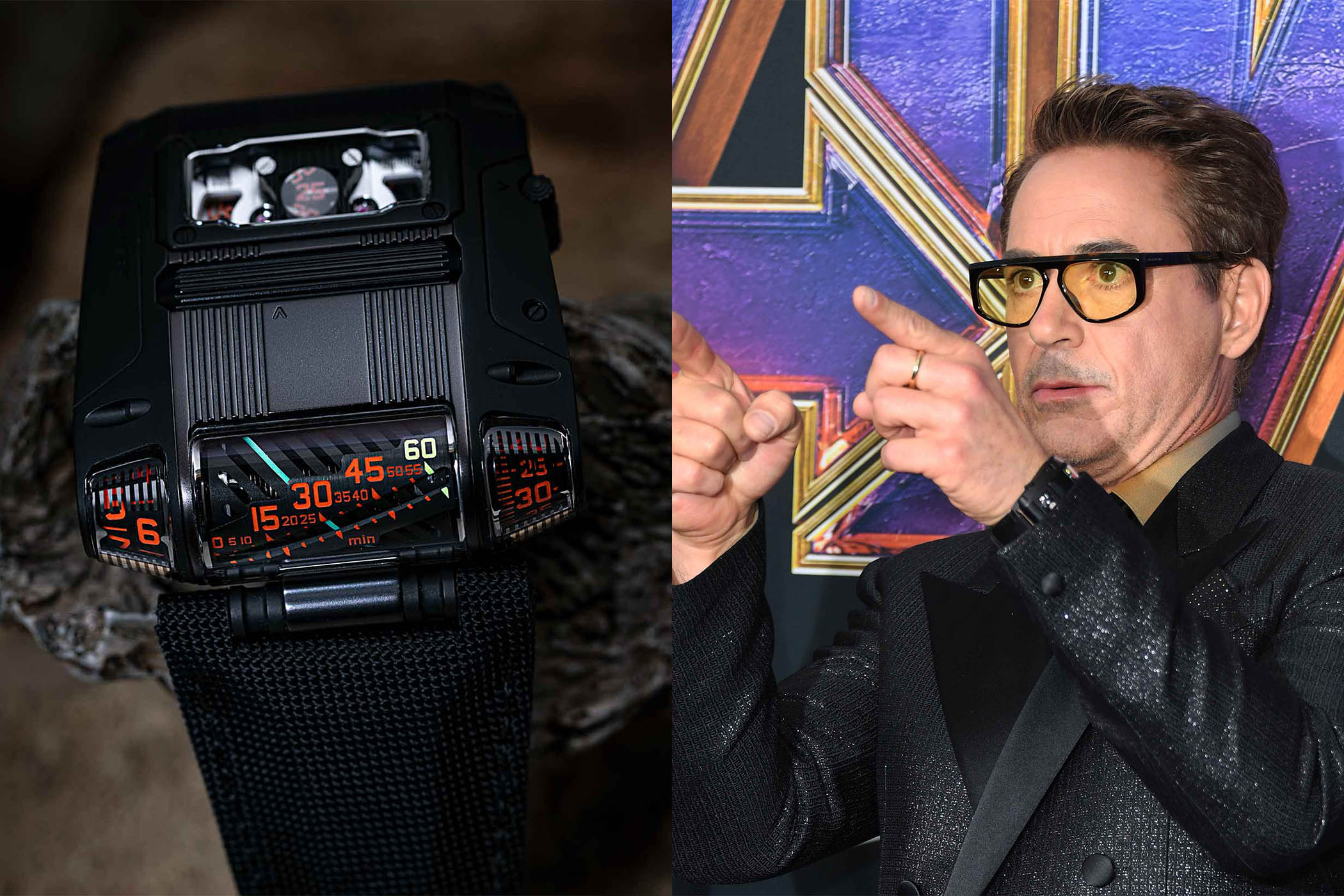 URWERK UR-111C Robert DOWNEY JR charity auction
