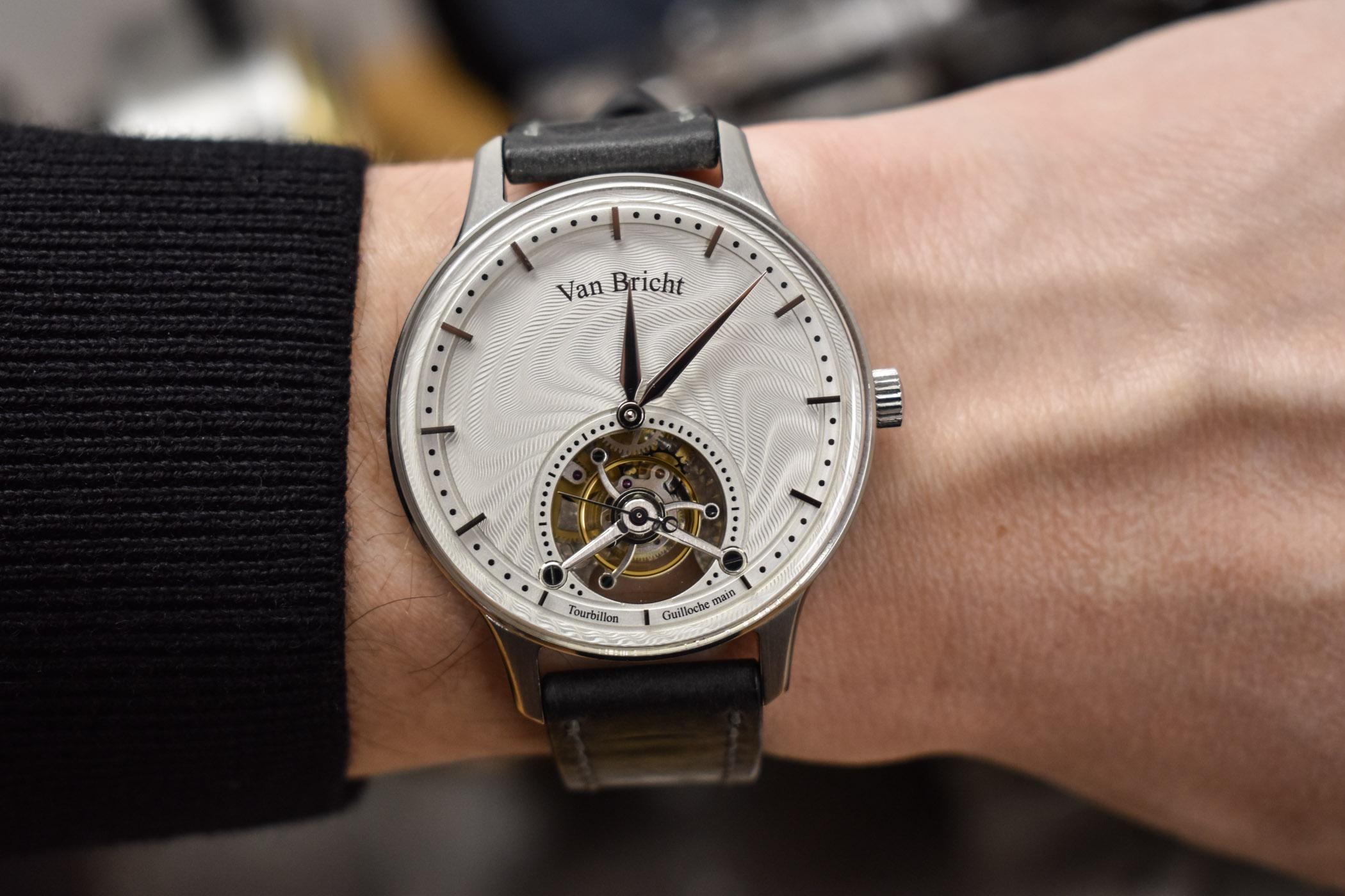 Van Bricht Old Mind Tourbillon - Independent Watchmaking Belgium