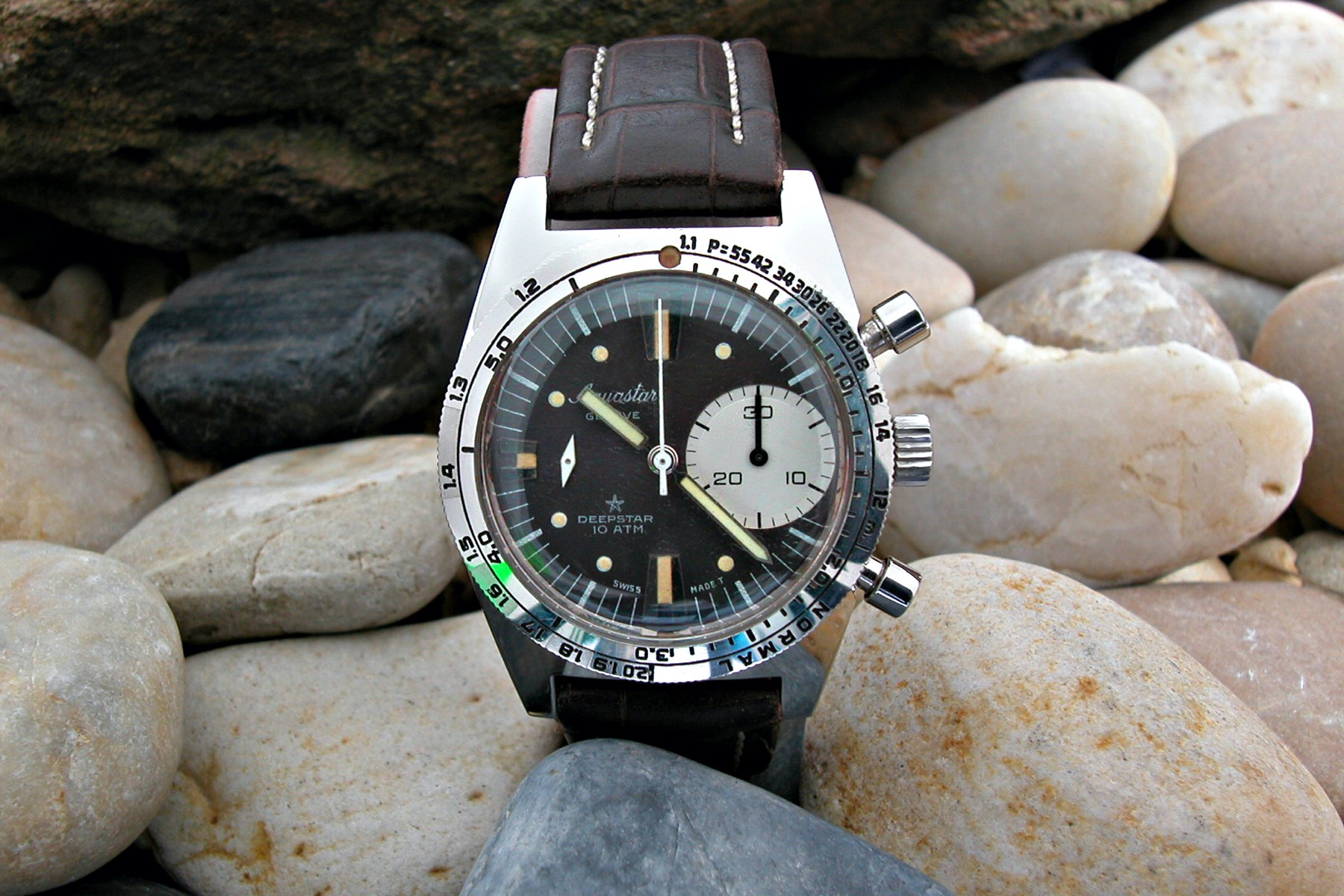 The Vintage Corner - The Story of Aquastar Deepstar Dive Chronograph