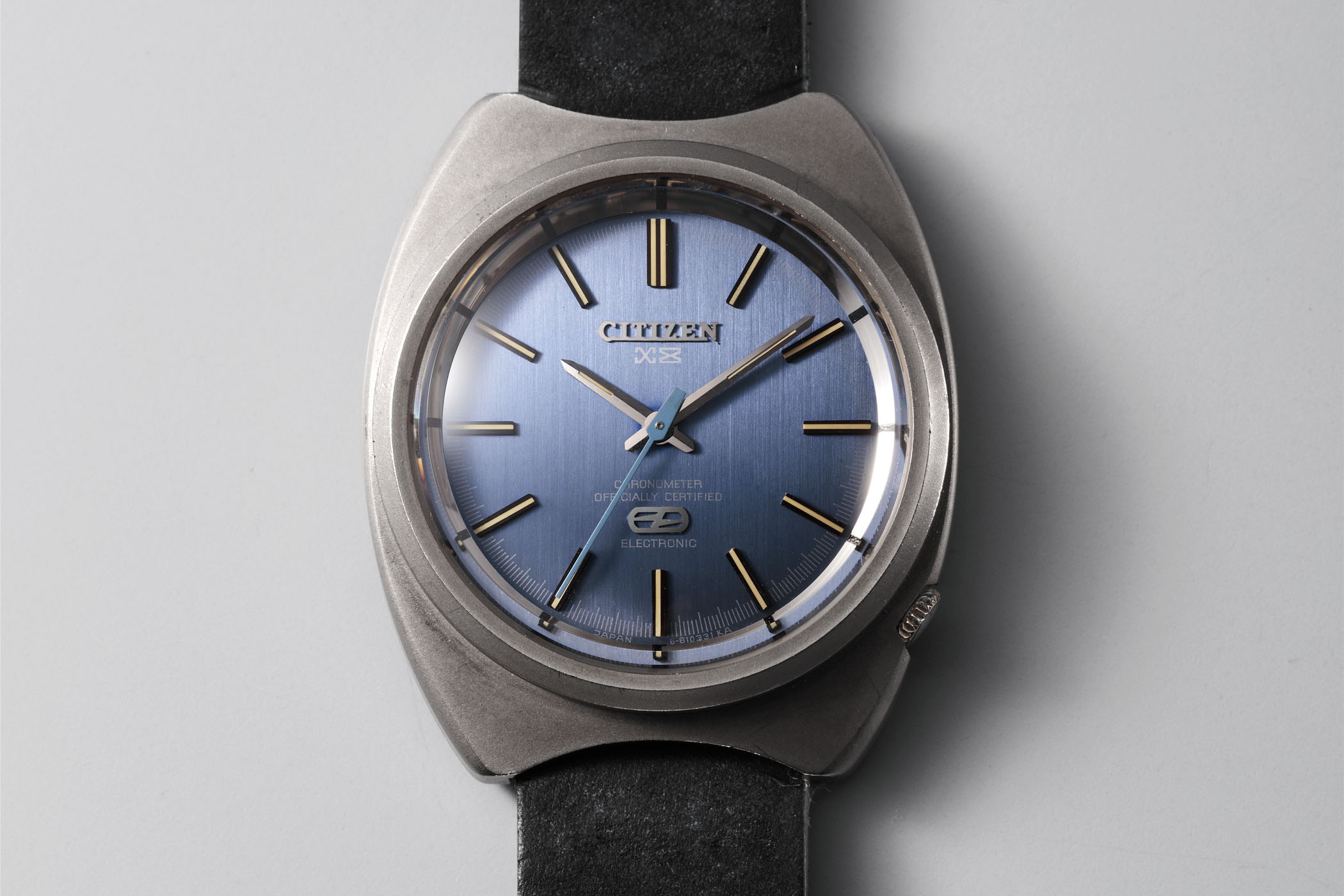 1970 Citizen X-8 Chronometer - first titanium watch