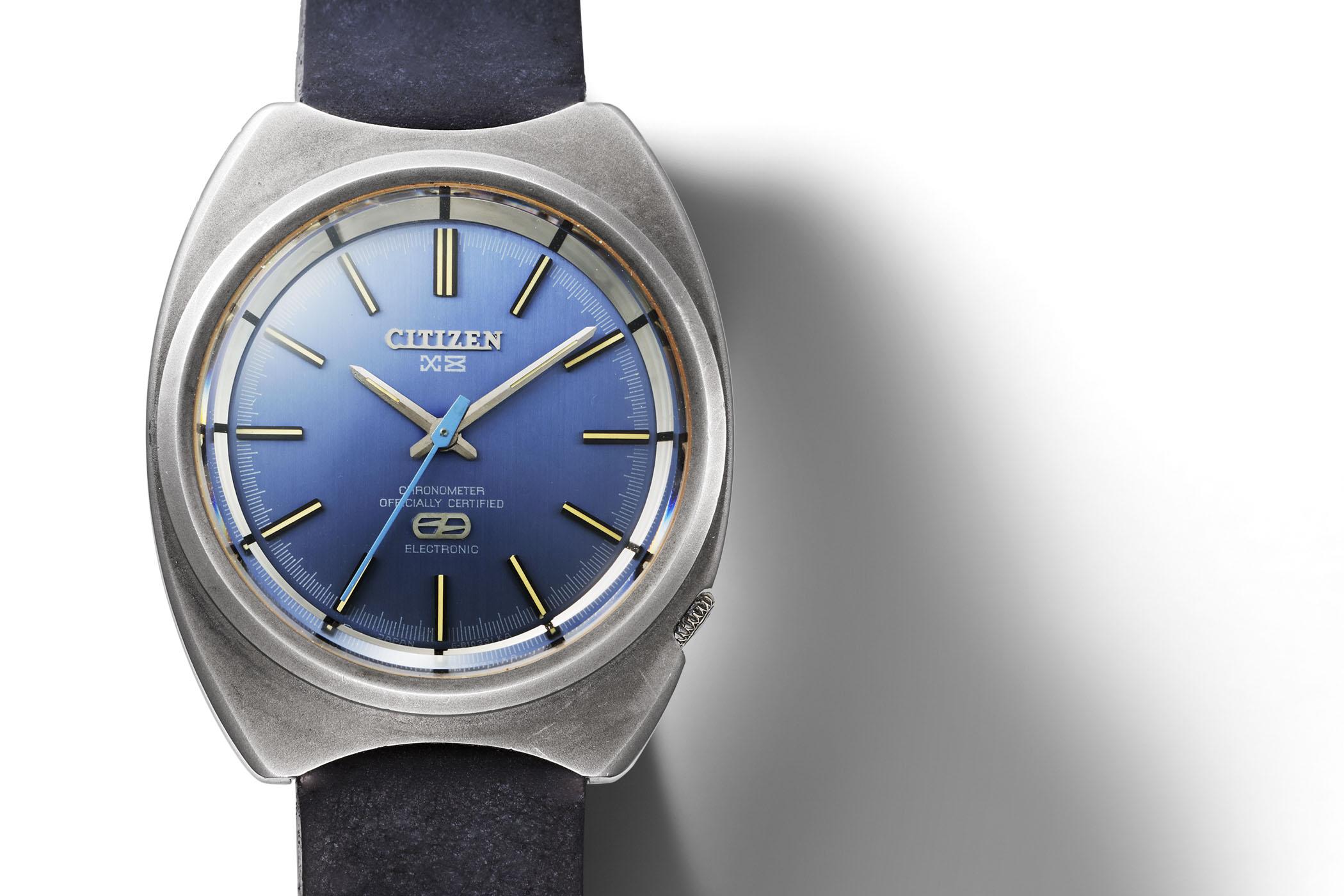 1970 Citizen X-8 Chronometer - first titanium watch