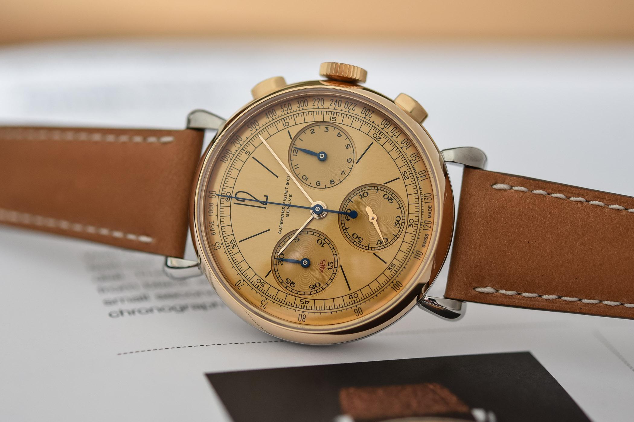 Audemars Piguet [Re]master01 Selfwinding Chronograph 26595SR-OO-A032VE-01