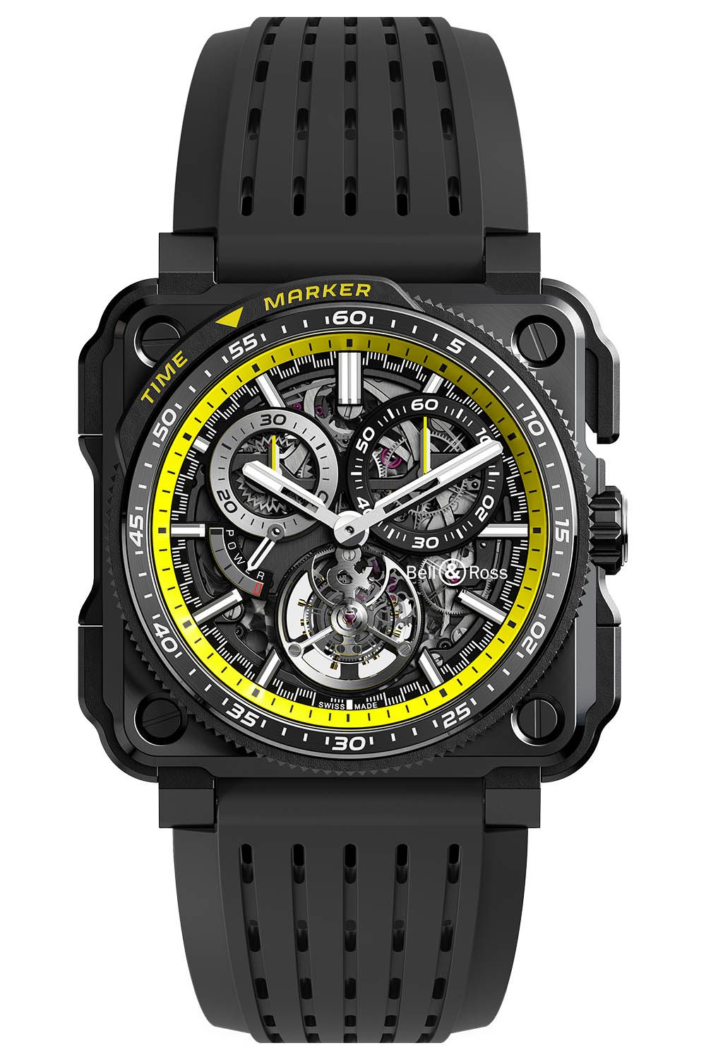 Bell and Ross BR-x1 tourbillon R.S.20 Renault F1 Chronograph - 2