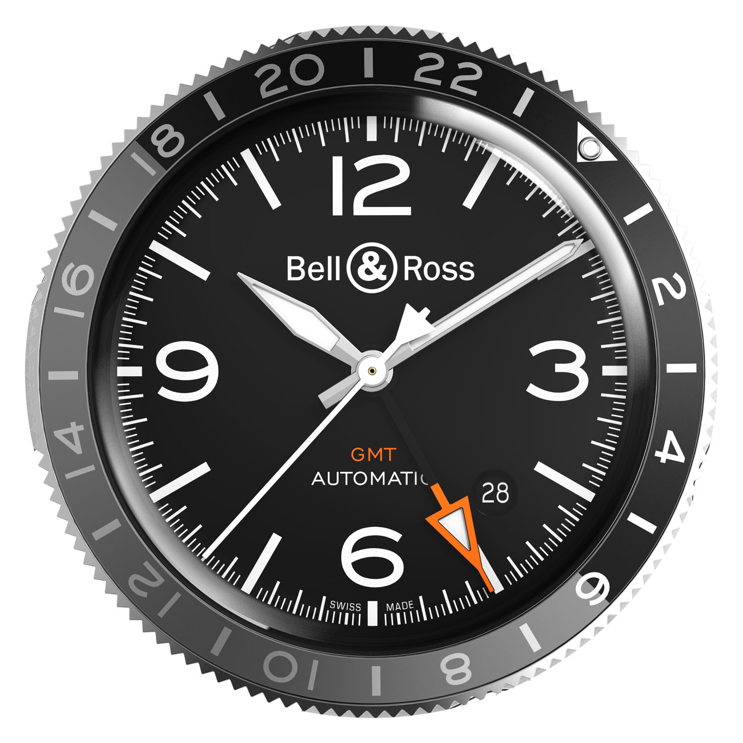 Bell ross GMT - how to use rotating GMT bezel - 1