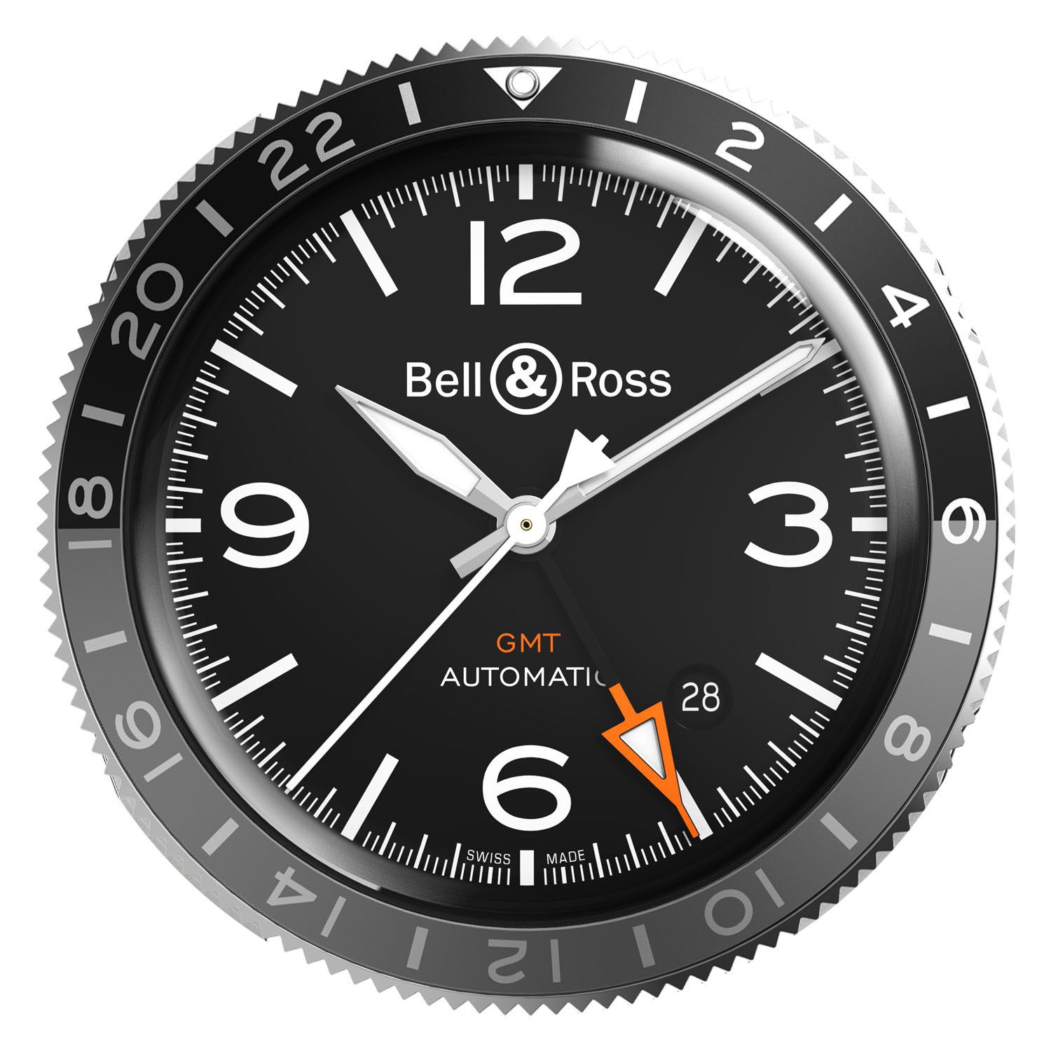 Bell ross GMT - how to use rotating GMT bezel - 2