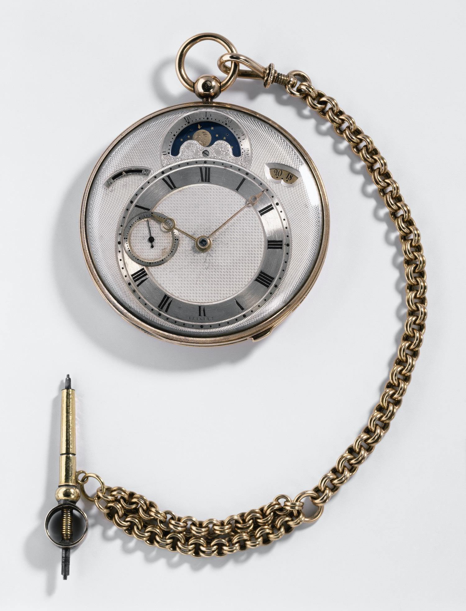 Breguet 3833 Calendar Pocket Watch Chinoise