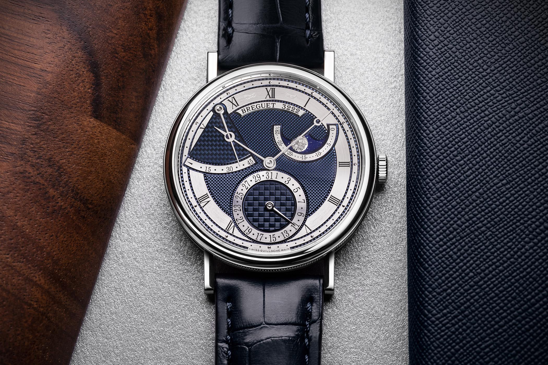 Breguet Classique 7137 Moon and Power Reserve new models 2020
