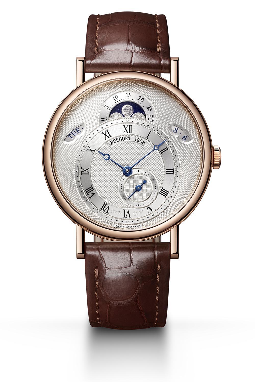 Breguet Classique 7337 Calendar and Moon new models 2020 - rose gold silver dial 7337BR159VU