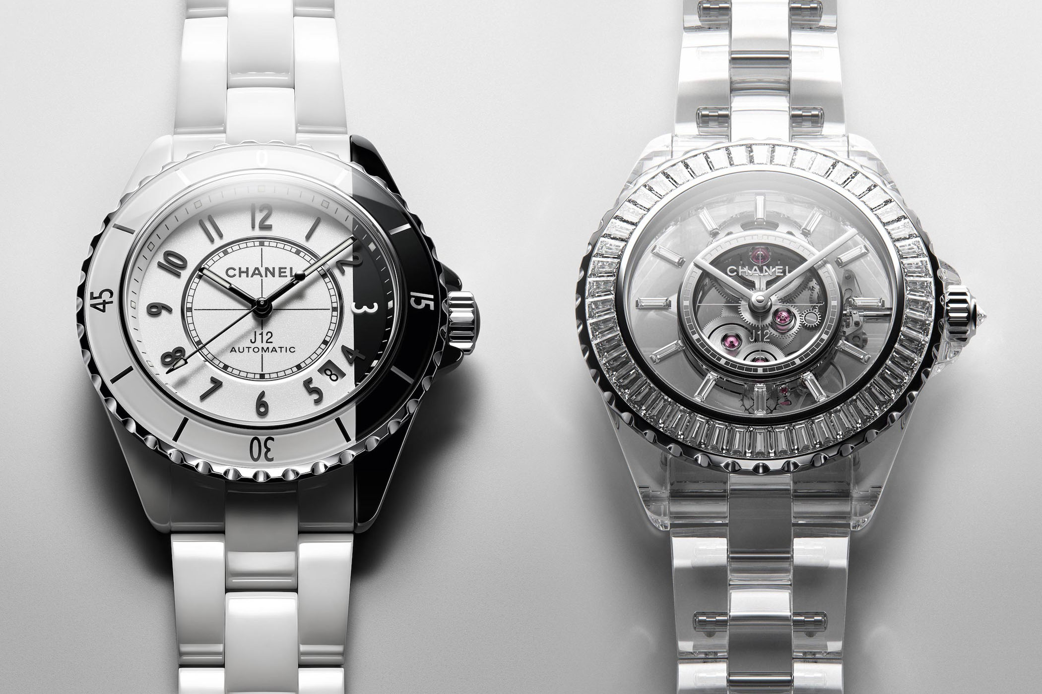 Chanel J12 PARADOXE & Chanel J12 X-RAY sapphire